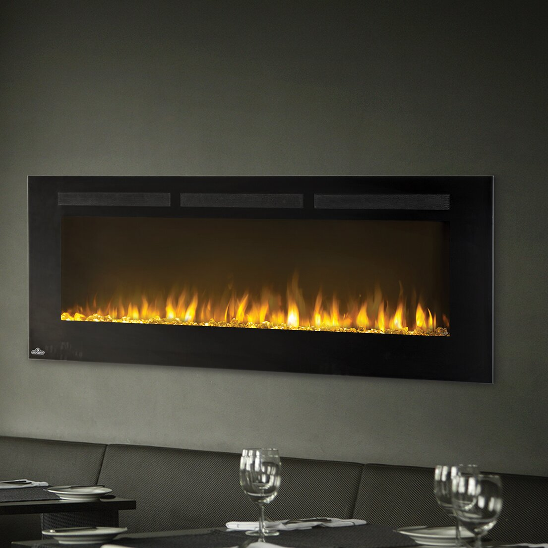 Napoleon Allure Wall Mount Electric Fireplace Wayfair