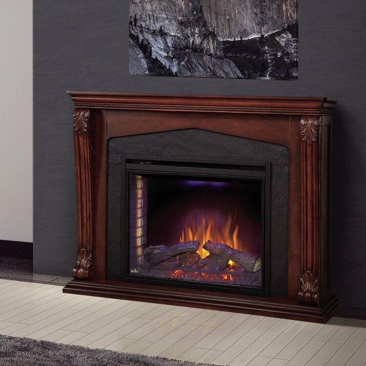 napoleon monroe surround mantel electric fireplace