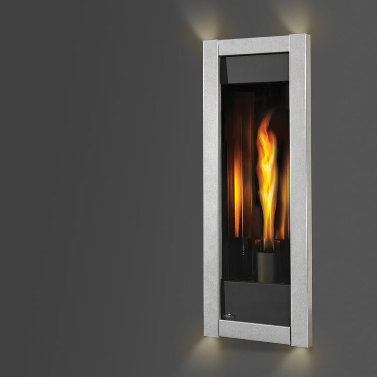 napoleon the torch direct vent wall mount gas fireplace