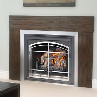 Napoleon 42 Zero Clearance Vent Free Wall Mount Gas Fireplace Reviews Wayfair