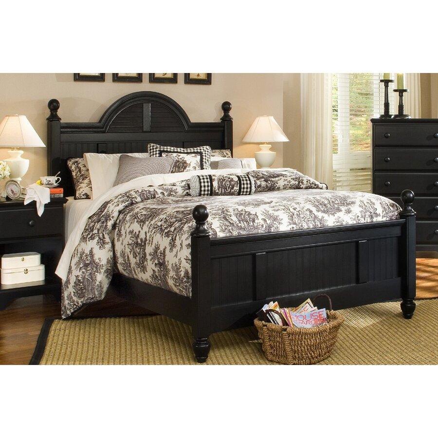 Carolina Furniture Works Inc Midnight Panel Customizable Bedroom Set Reviews Wayfair