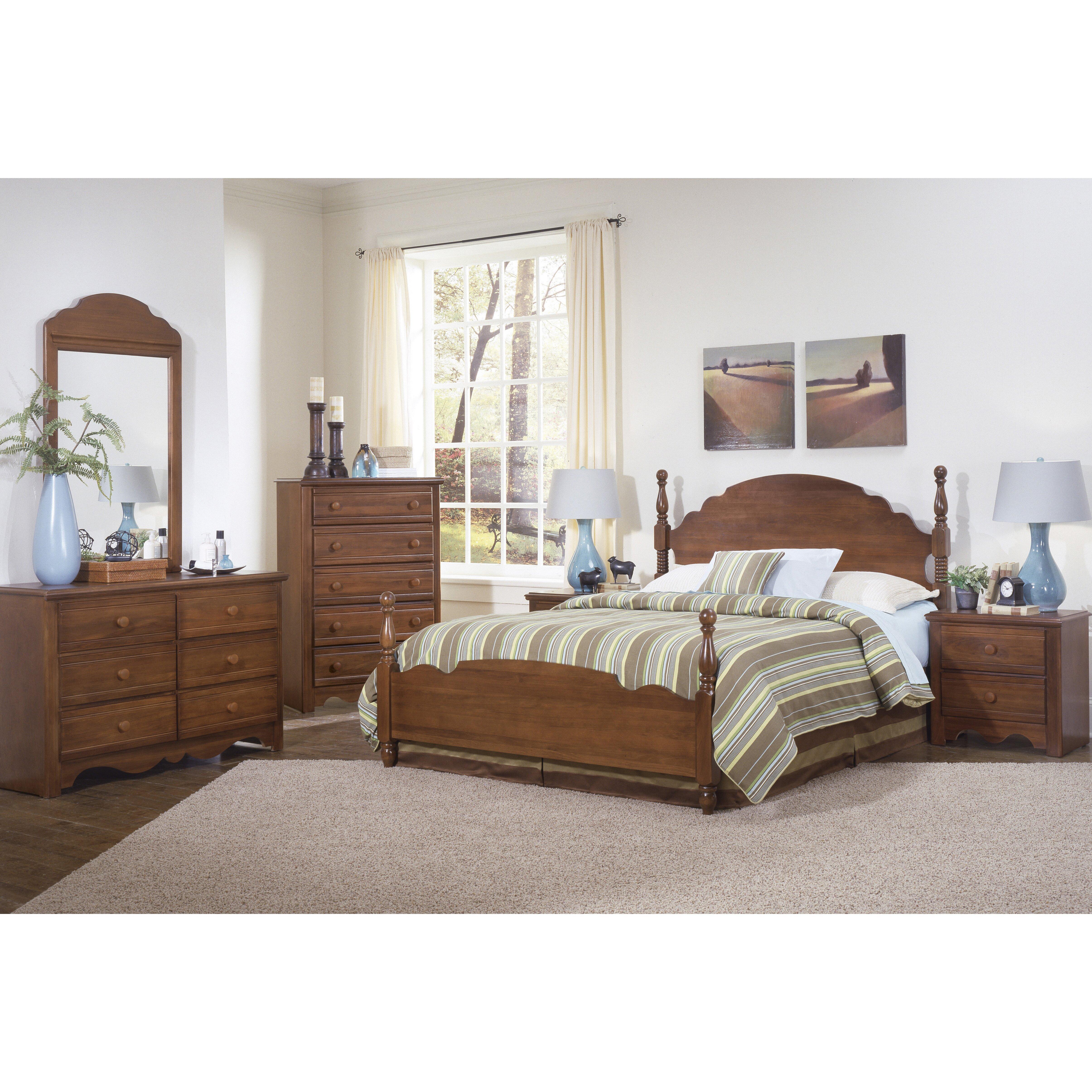 Carolina Furniture Works Inc Crossroads Panel Customizable Bedroom Set Reviews Wayfair