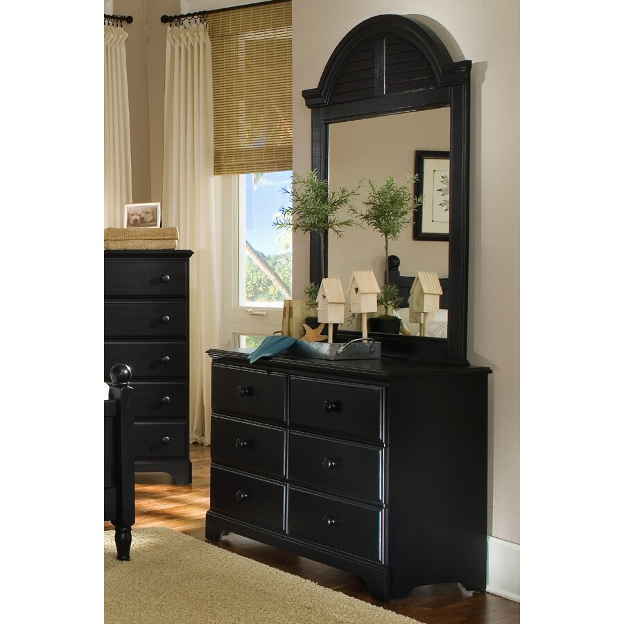 Carolina Furniture Works Inc Midnight 6 Drawer Dresser Reviews