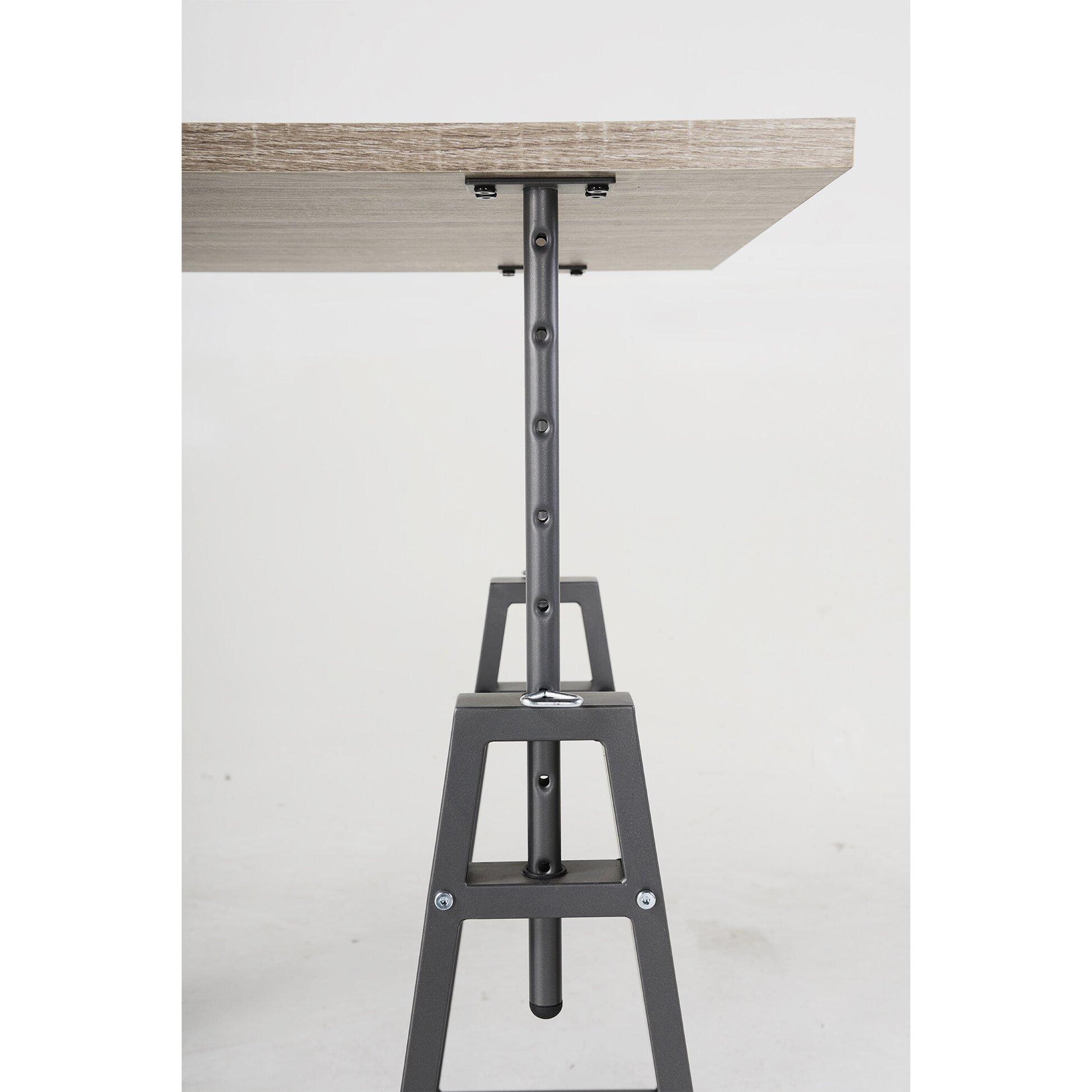 Homestar Height Adjustable Writing Desk & Reviews