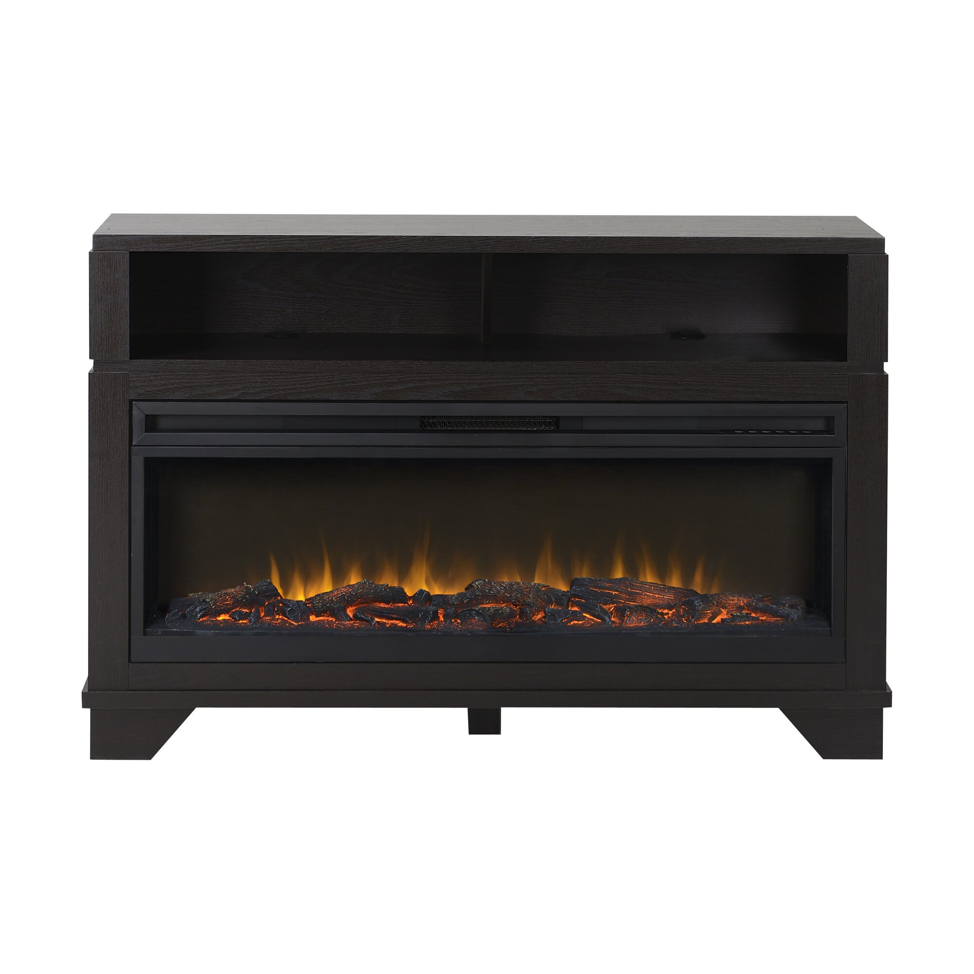 Homestar Nereto Tv Stand With Electric Fireplace Reviews Wayfair