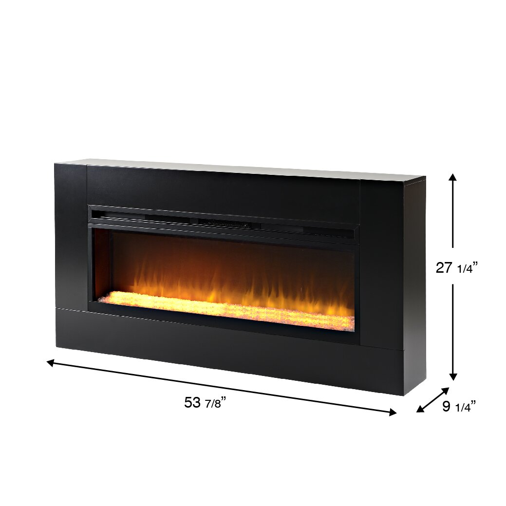 Homestar Mantova Freestanding Electric Fireplace Reviews Wayfair