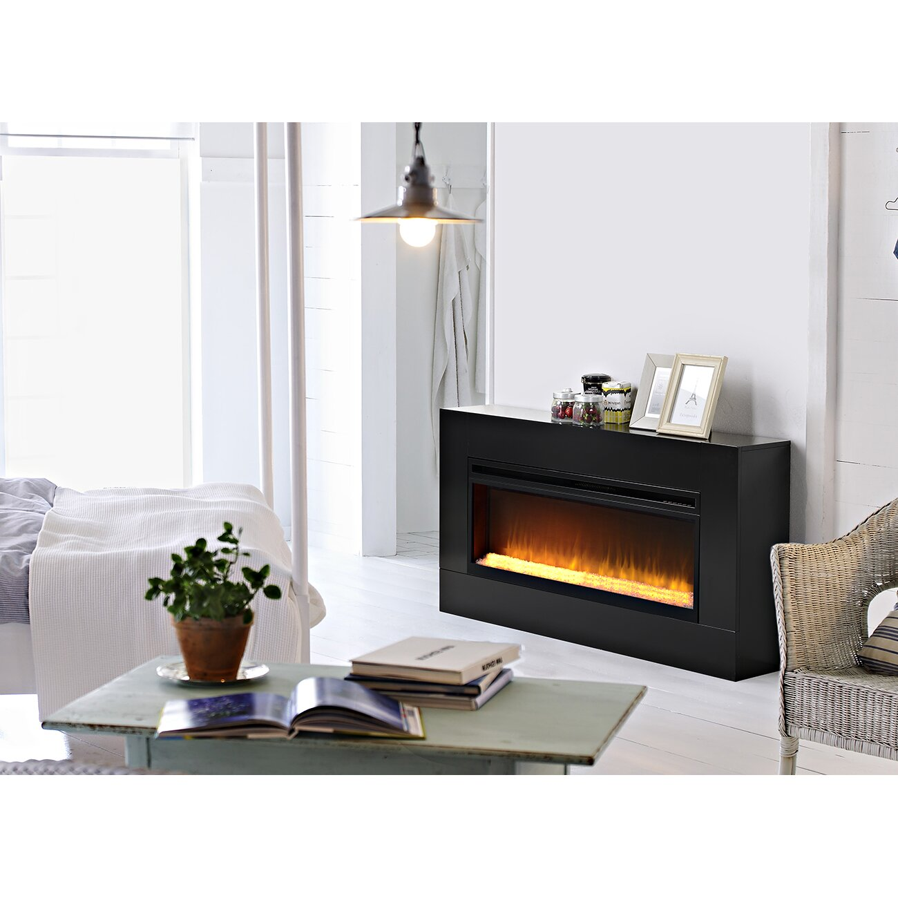 Homestar Mantova Freestanding Electric Fireplace Reviews