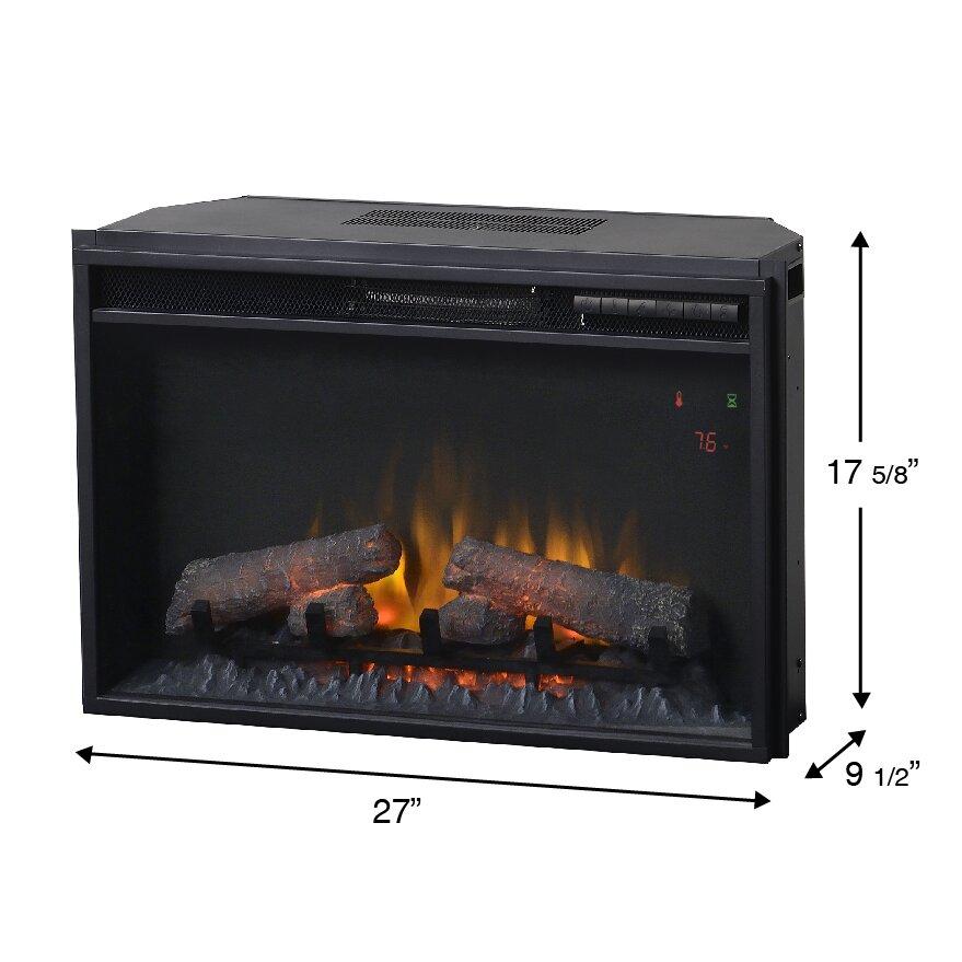 Homestar Wall Mount Electric Fireplace Reviews Wayfair
