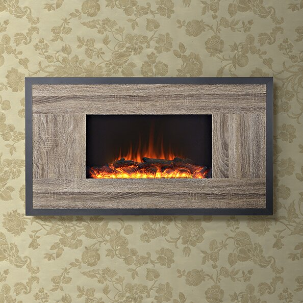 Homestar Oland Wall Mount Electric Fireplace Amp Reviews