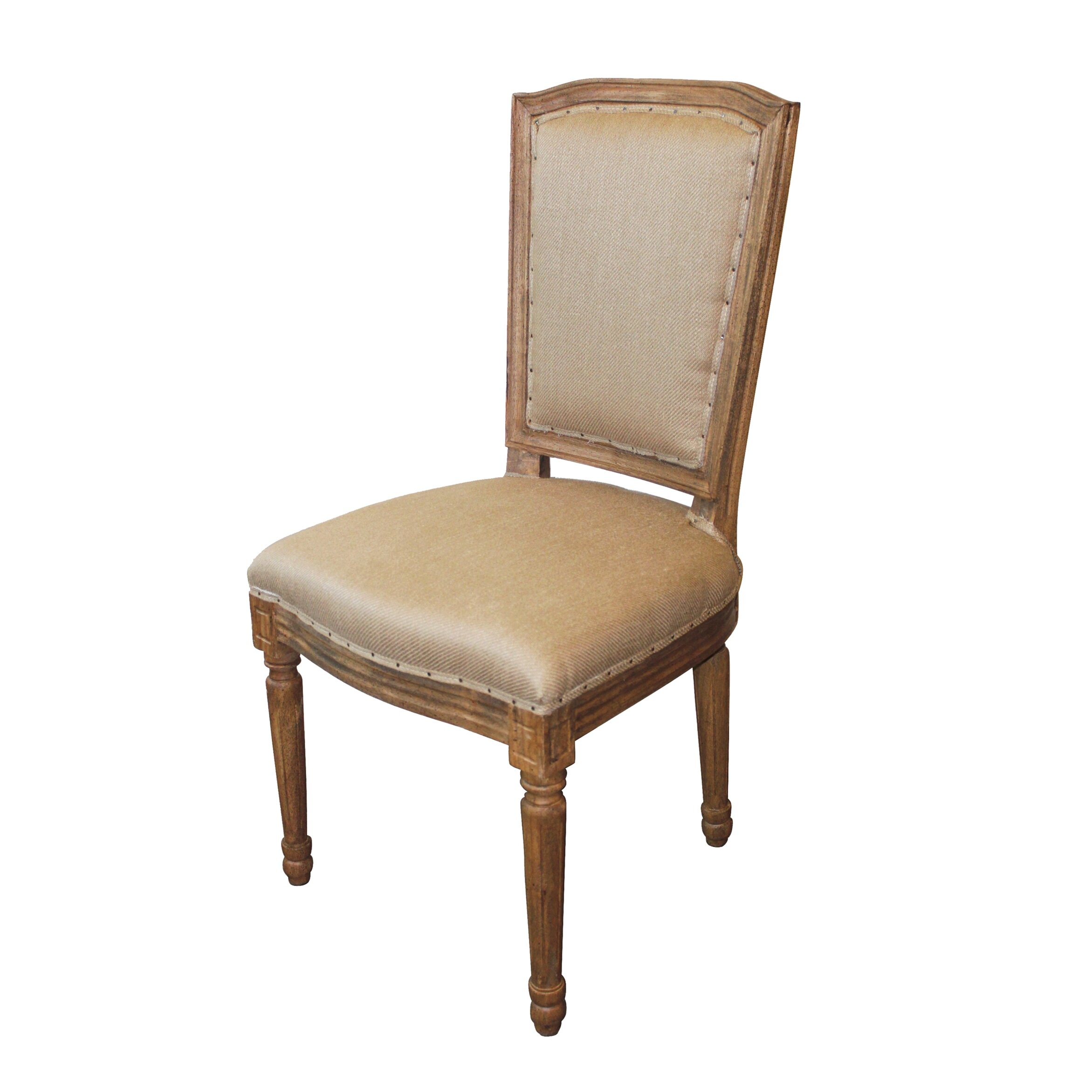White x white anton dining chair reviews wayfair for White chair