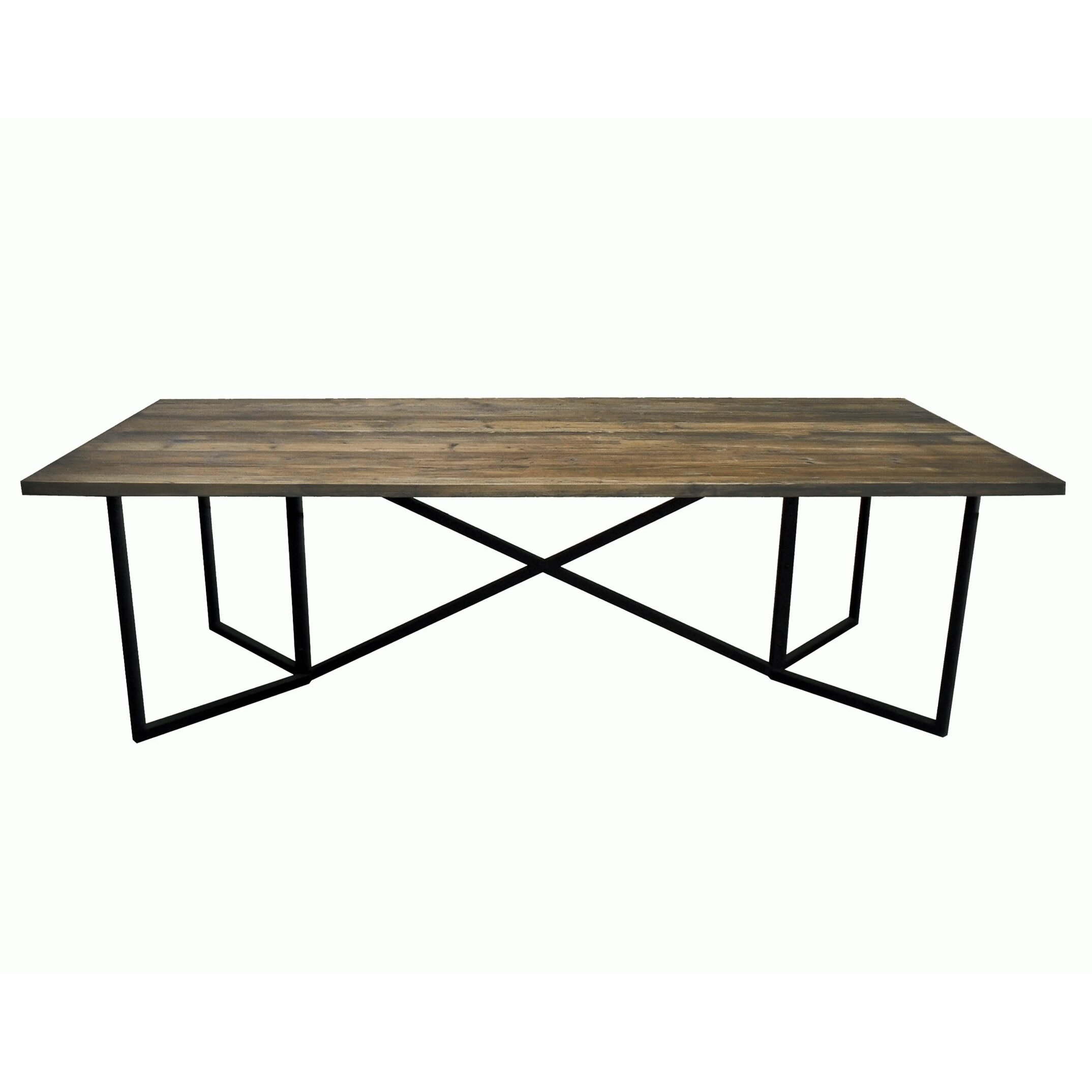 White x white calloway dining table reviews wayfair for Table x reviews