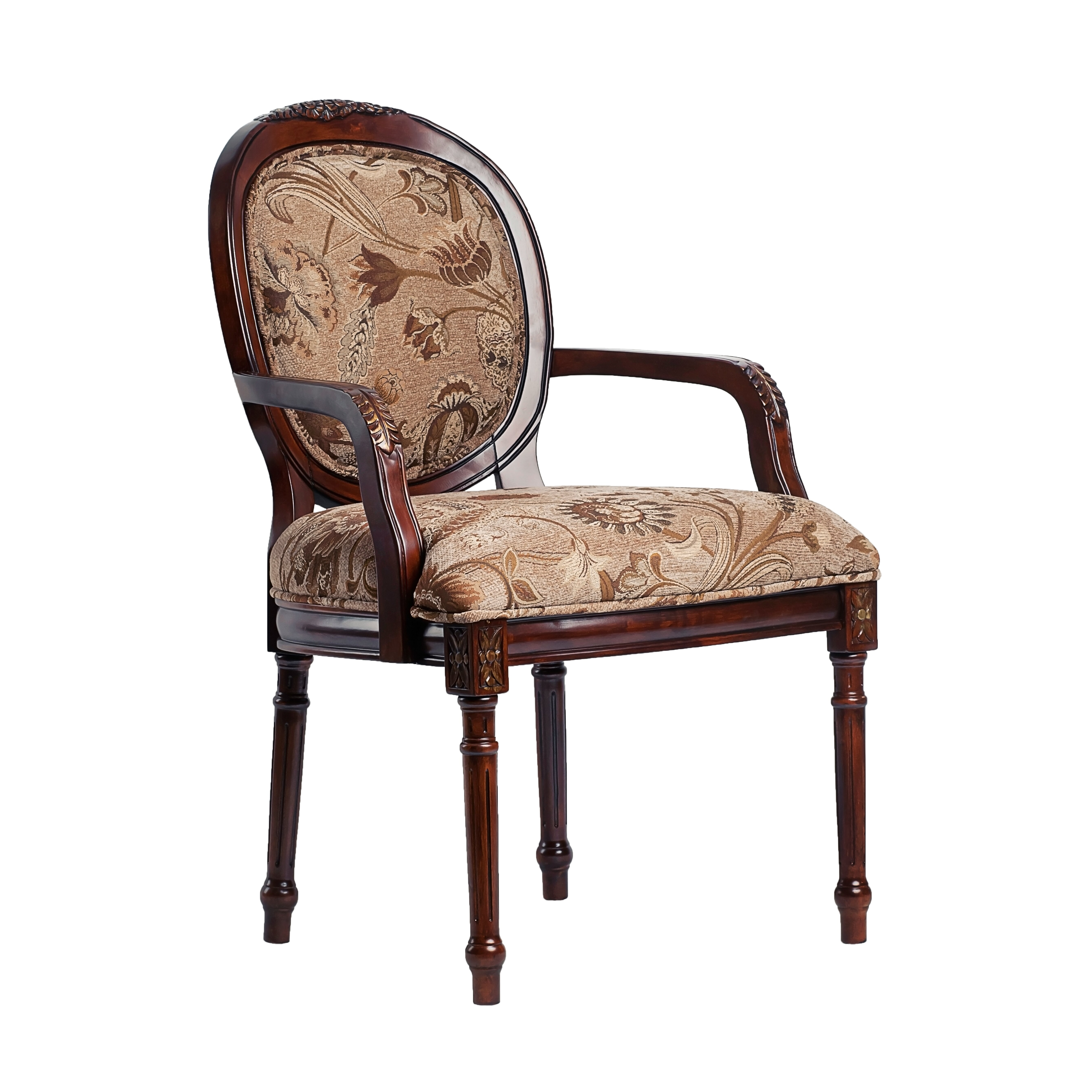 Chenille Armchair: Comfort Pointe Belmont Chenille Arm Chair & Reviews