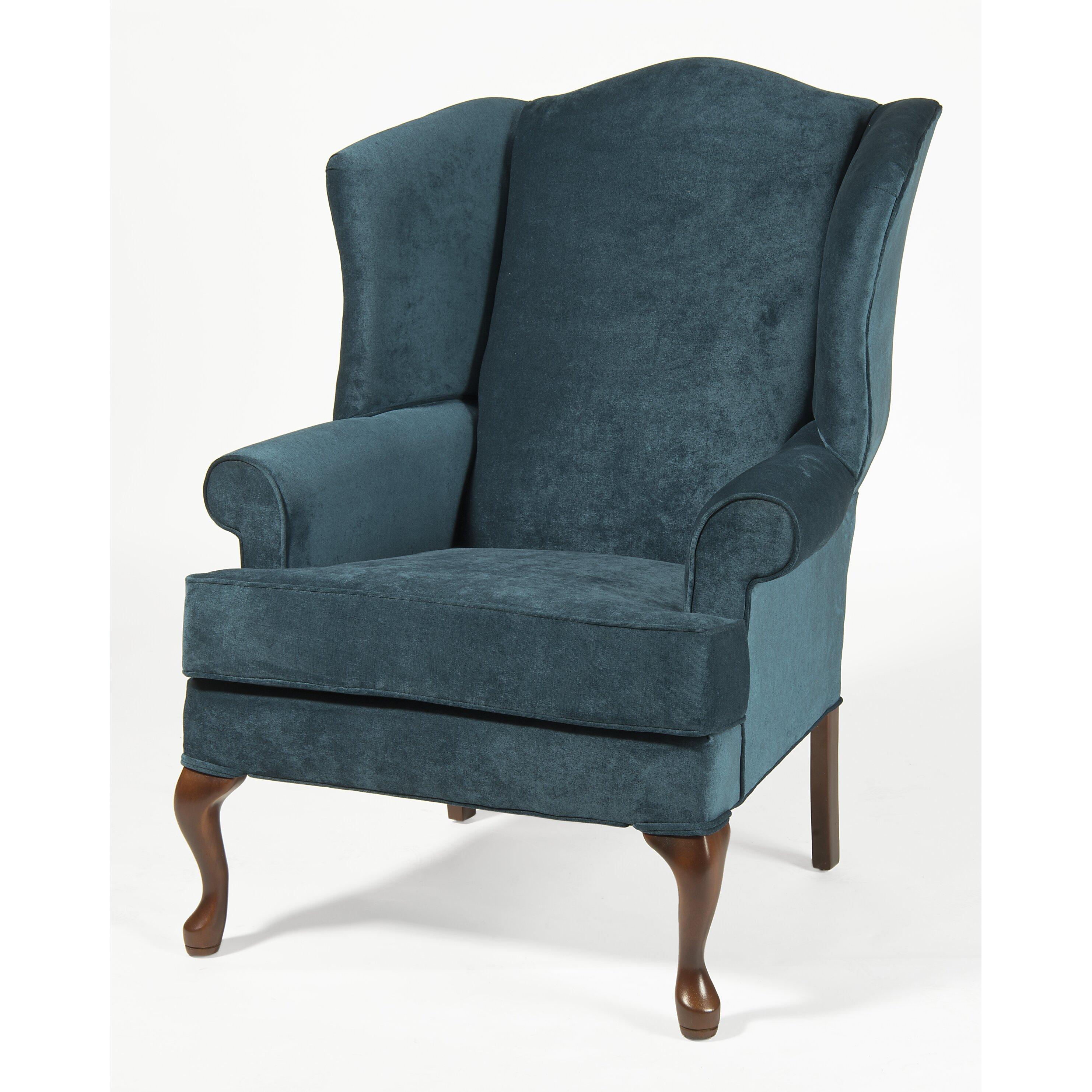 comfort pointe elizabeth wingback chair wayfair