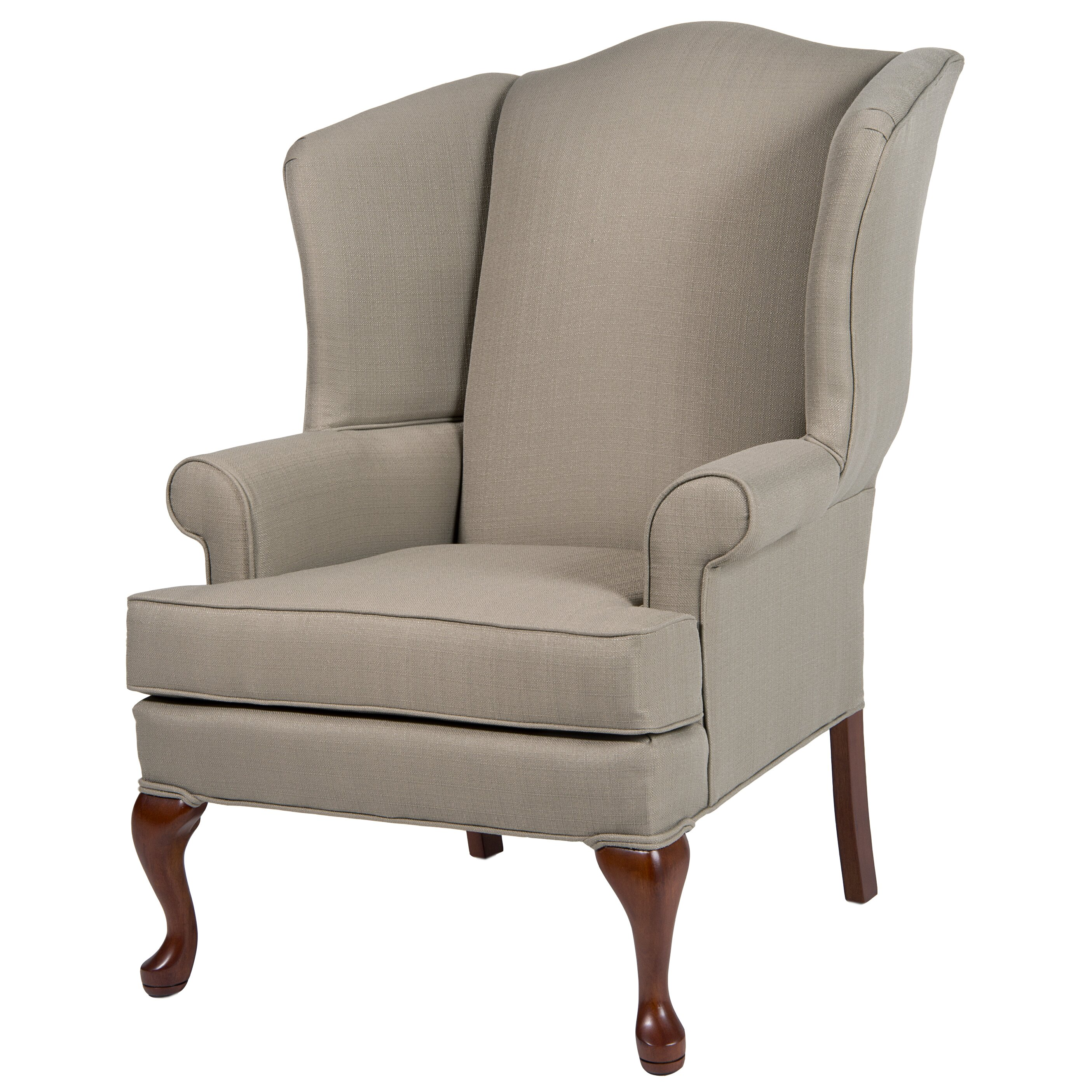 Comfort pointe erin wing back chair reviews wayfair for Wing back dining chairs