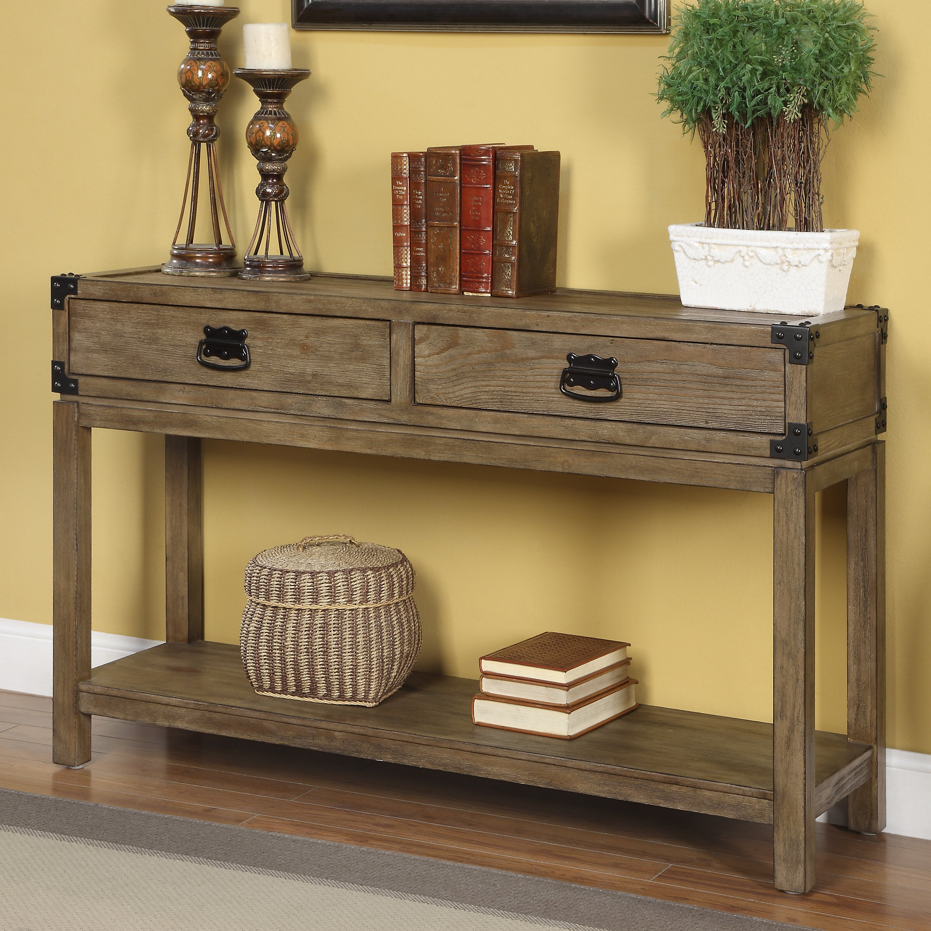 coast to coast imports 2 drawer console table reviews. Black Bedroom Furniture Sets. Home Design Ideas