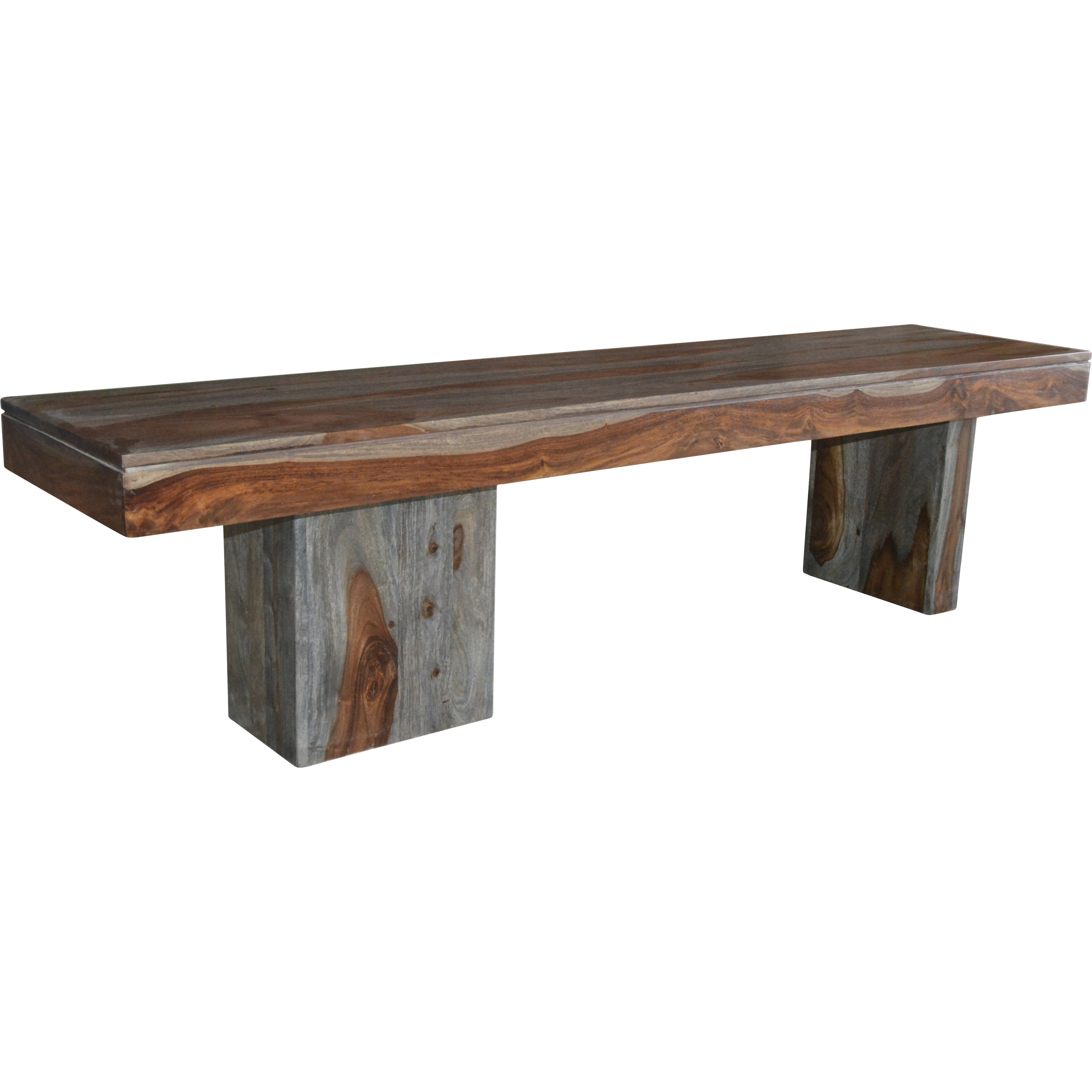 Coast to coast imports wooden bench reviews wayfair Oak bench