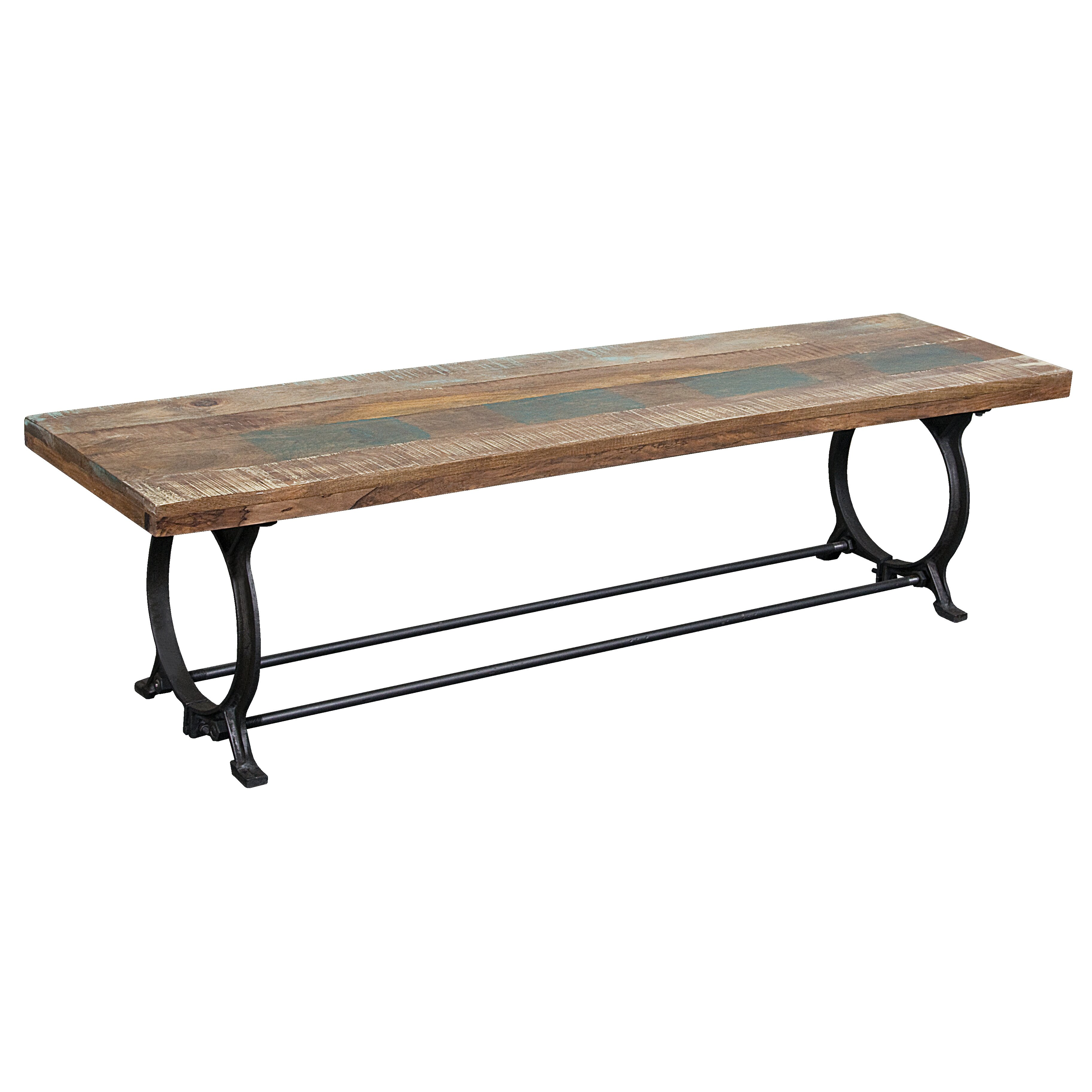 Coast To Coast Imports Wood Metal Kitchen Bench Reviews Wayfair