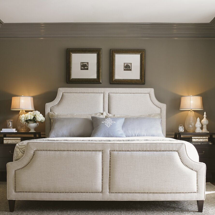 Chadwick Apartments: Lexington Kensington Place Upholstered Panel Bed & Reviews