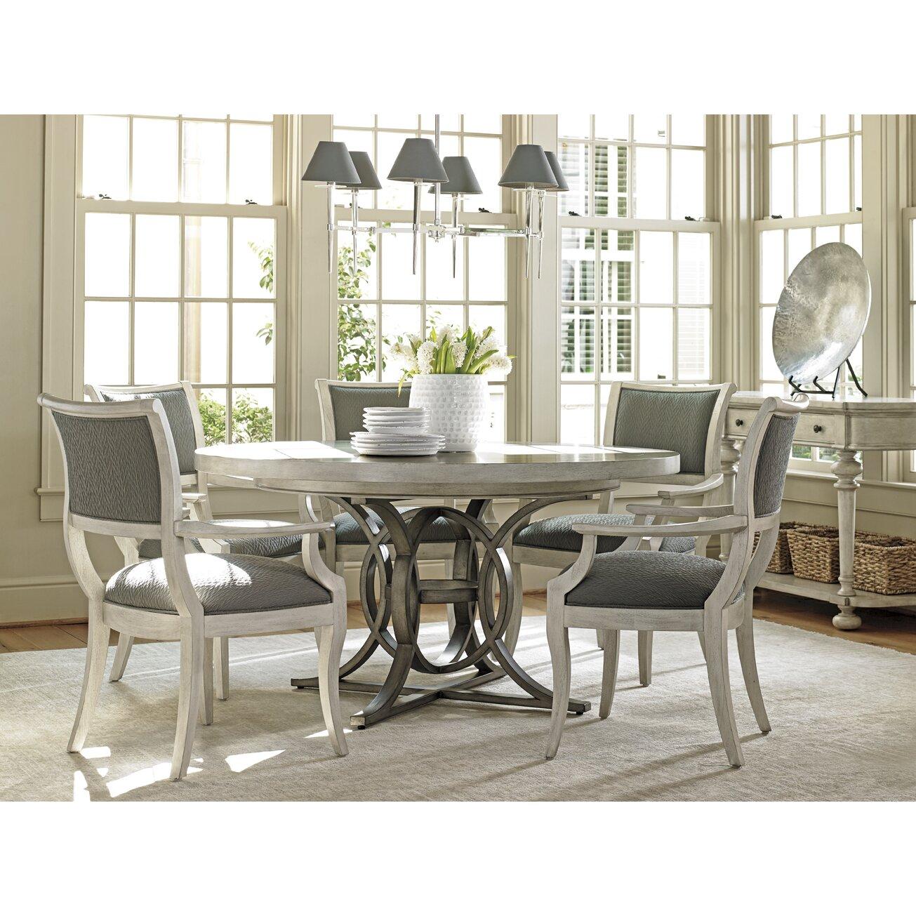 lexington dining room table   Lexington Oyster Bay Calerton Extendable Dining Table ...