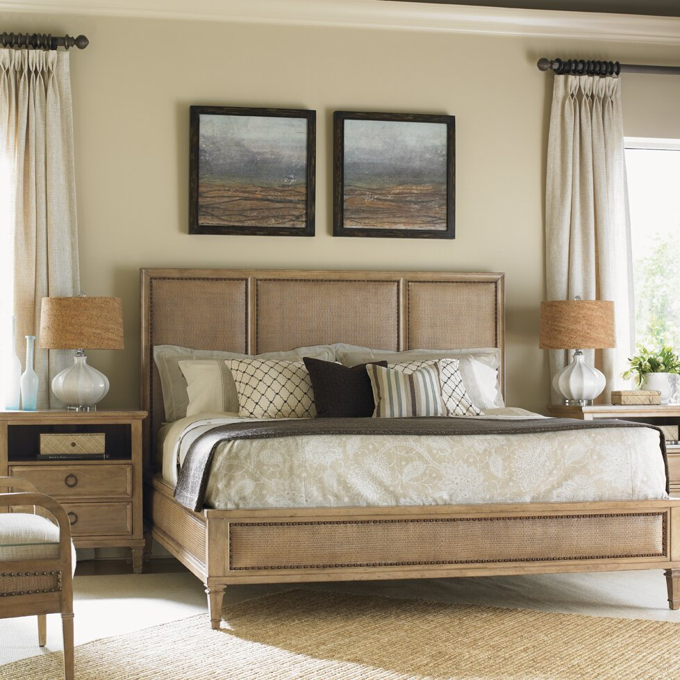 lexington monterey sands platform customizable bedroom set