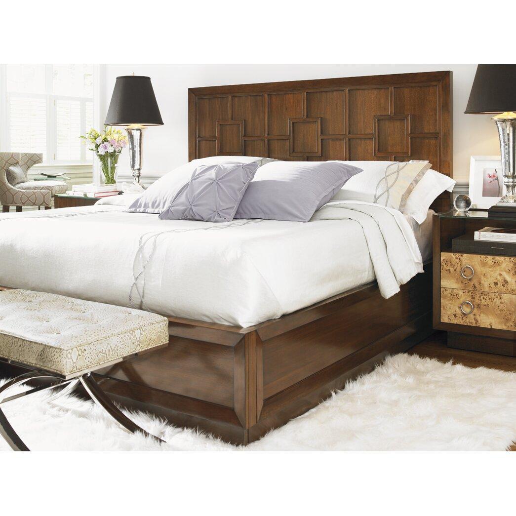 Lexington mirage platform bed wayfair for Beds harlow
