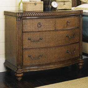 Tommy Bahama Home Bali Hai 4 Drawer Bachelor S Chest