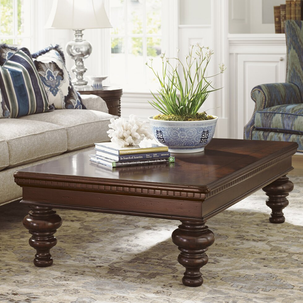 Tommy bahama home living room crystal cove cocktail table