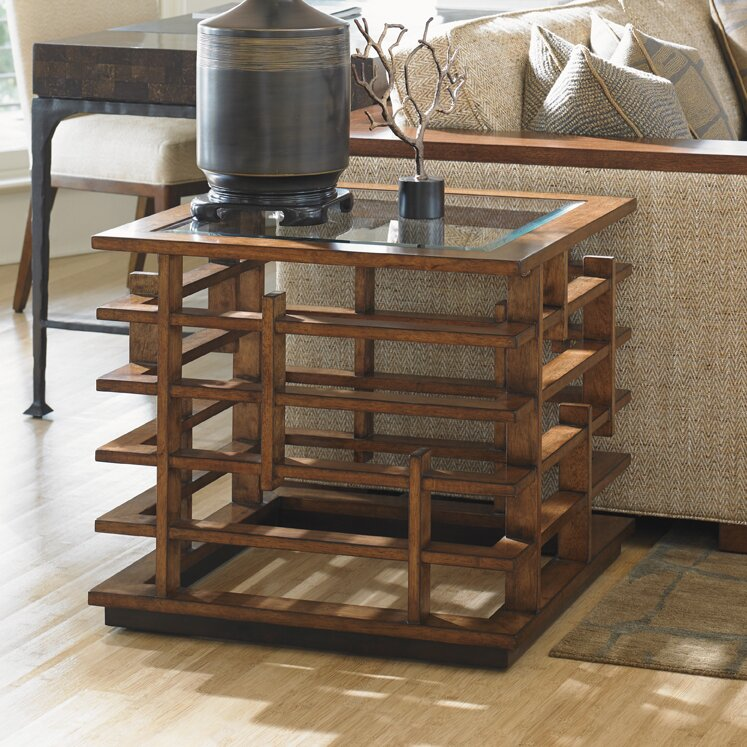 Tommy Bahama Home Island Fusion Nobu Coffee Table Set
