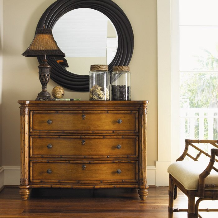 Tommy Bahama Home Island Estate Barbados 3 Drawer Chest