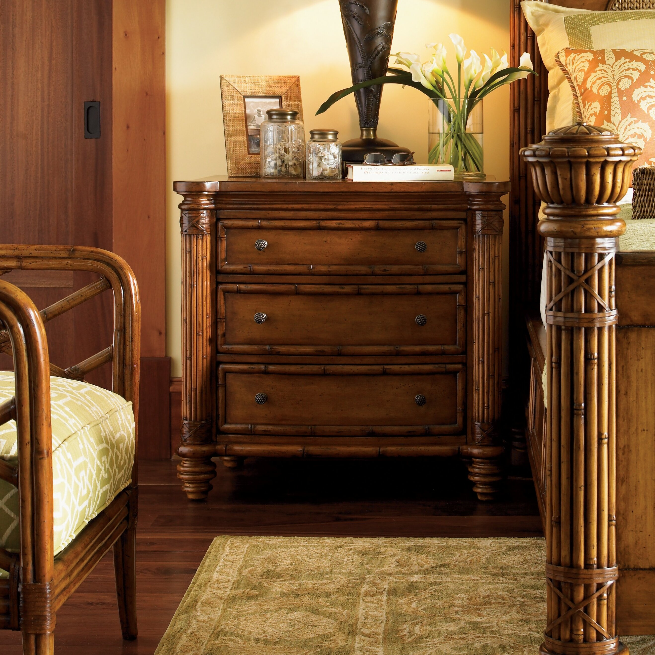 Tommy Bahama Home Island Estate Panel Customizable Bedroom Set Reviews Wayfair