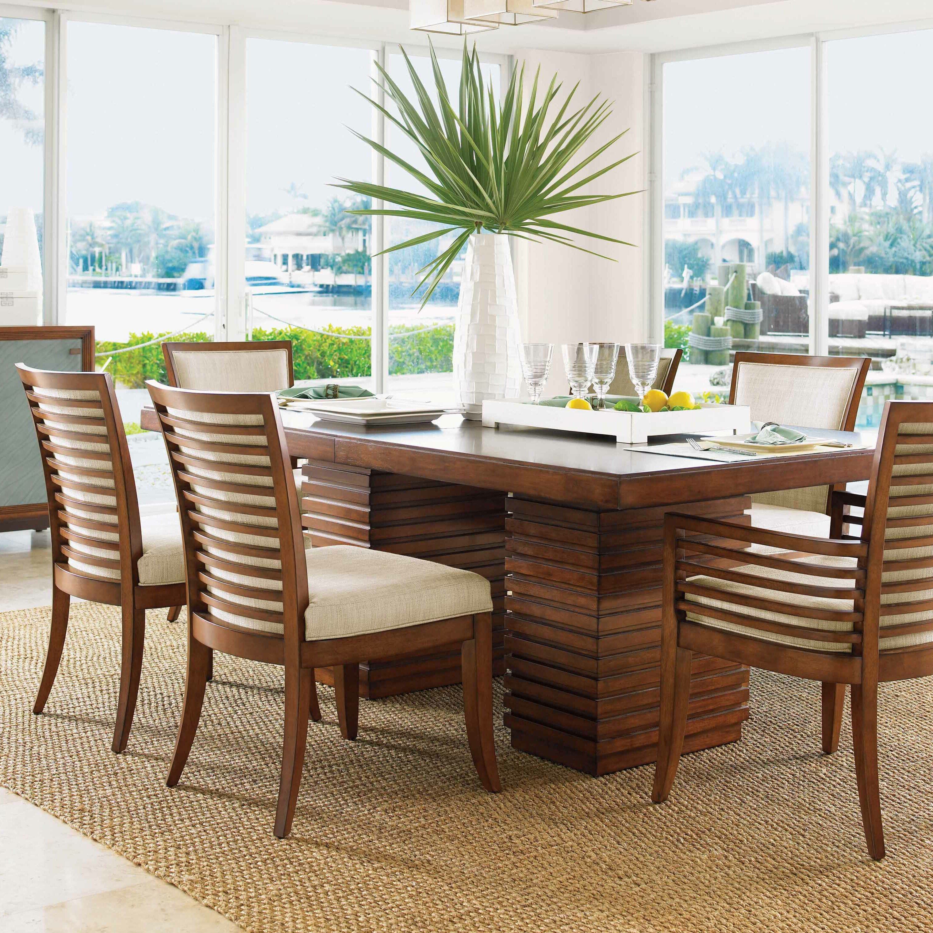 Tommy Bahama Dining Room Furniture: Tommy Bahama Home Ocean Club 7 Piece Dining Set & Reviews