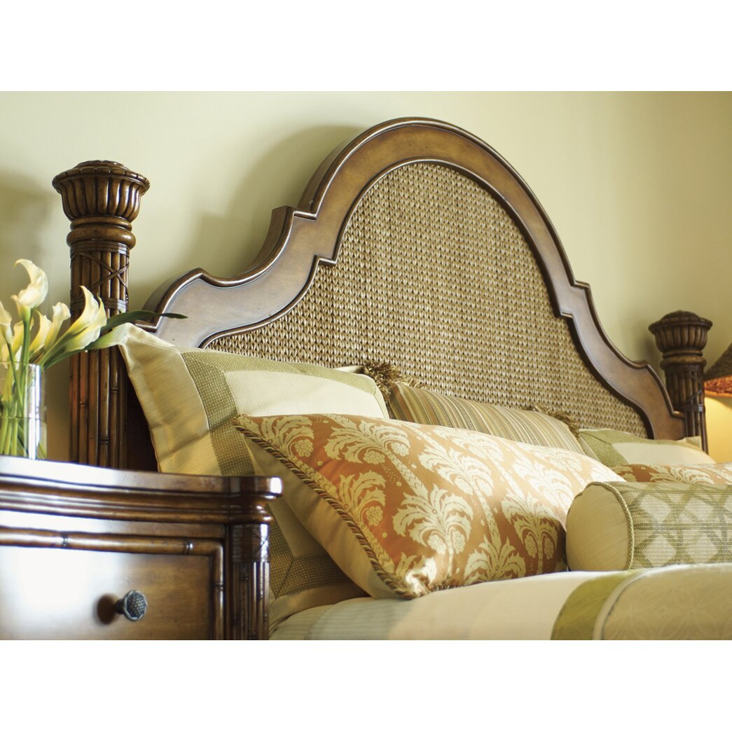 tommy bahama home island estates panel bed  u0026 reviews