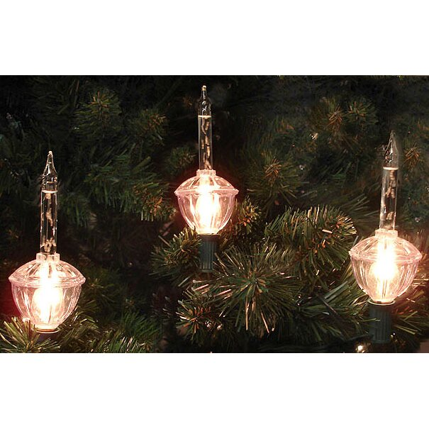 Retro Christmas String Lights : Sienna 7 Light Clear Retro Christmas Bubble Light String & Reviews Wayfair