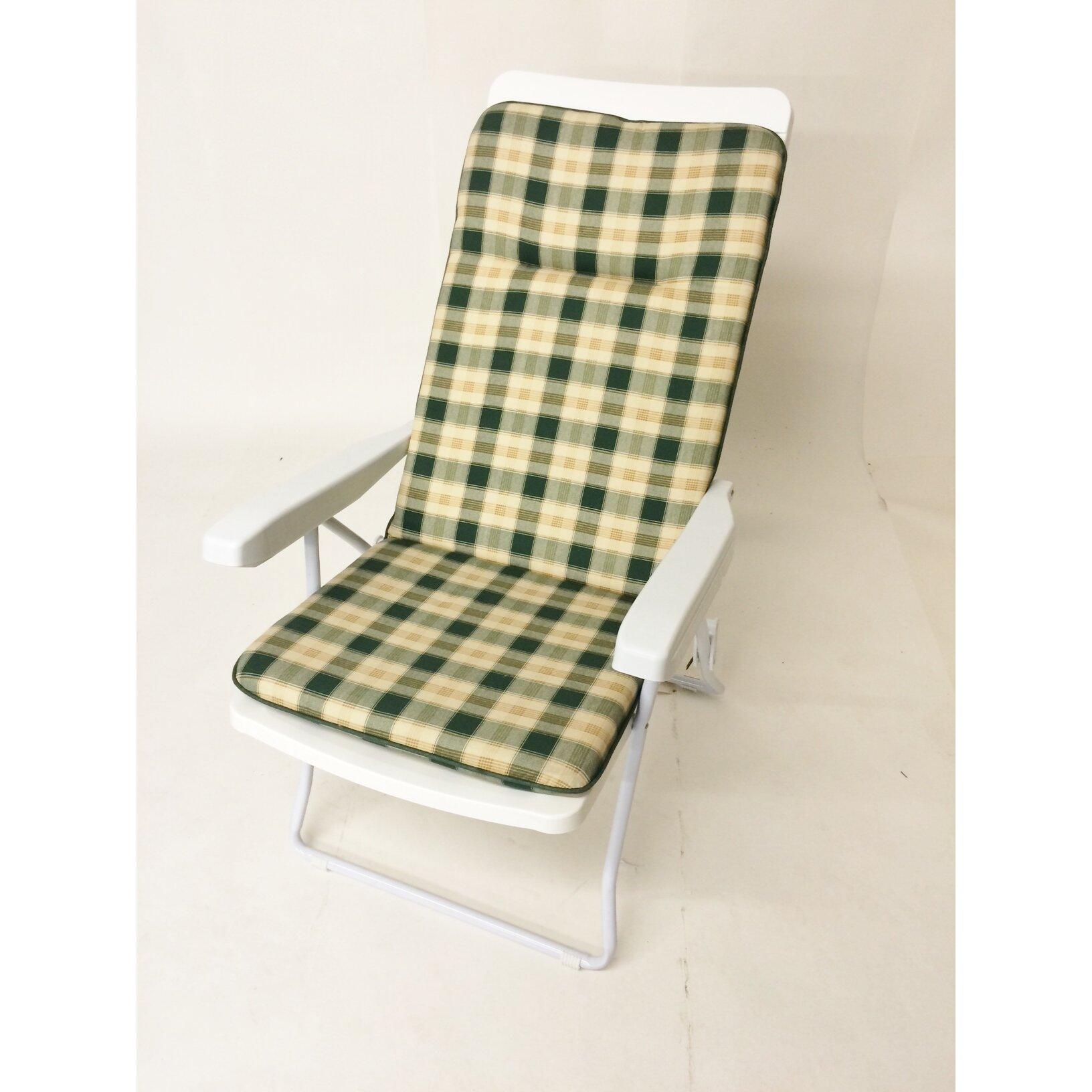 Swift Garden Furniture Recliner Cushion   Wayfair UK