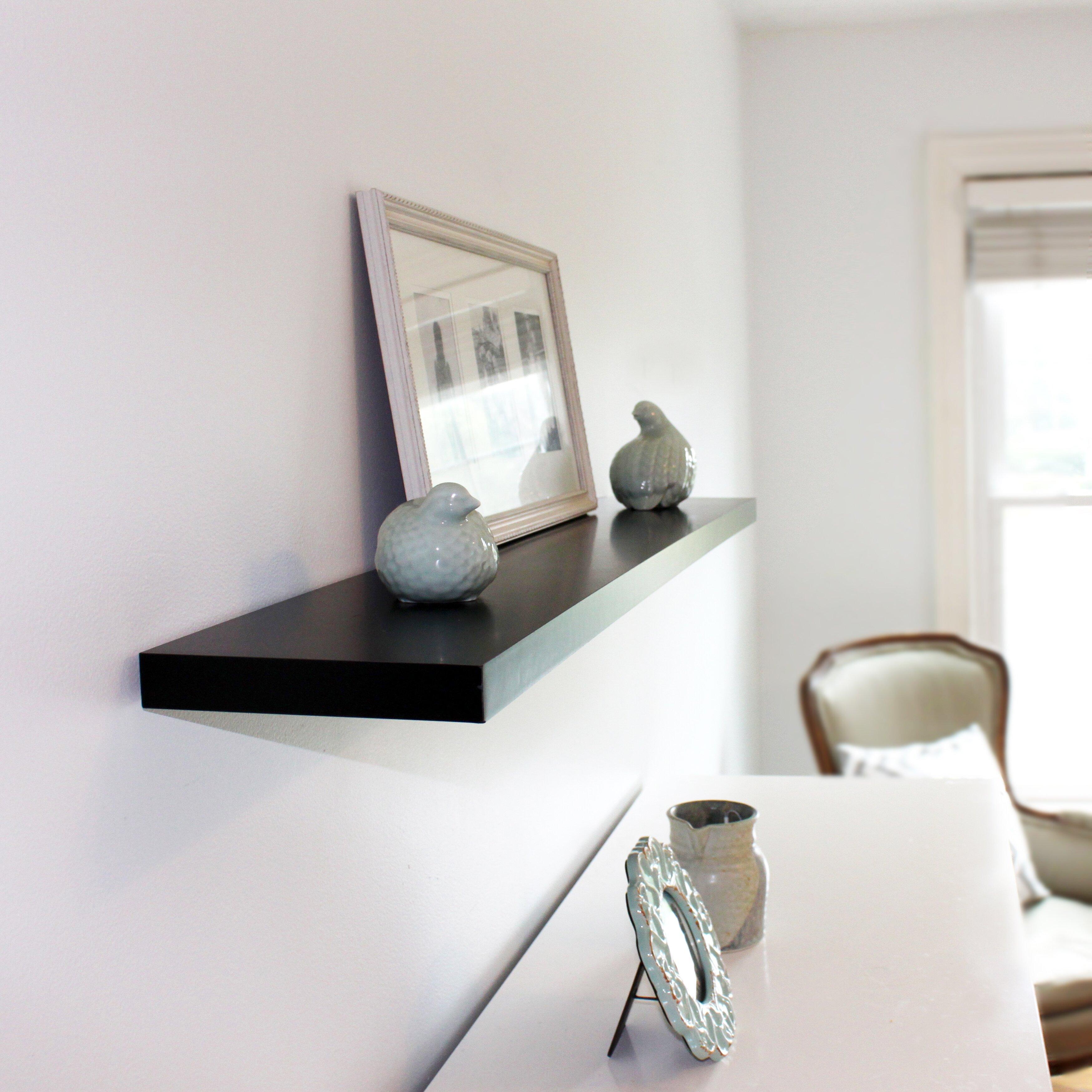 Inplace Shelving Floating Wall Shelf Reviews Wayfair