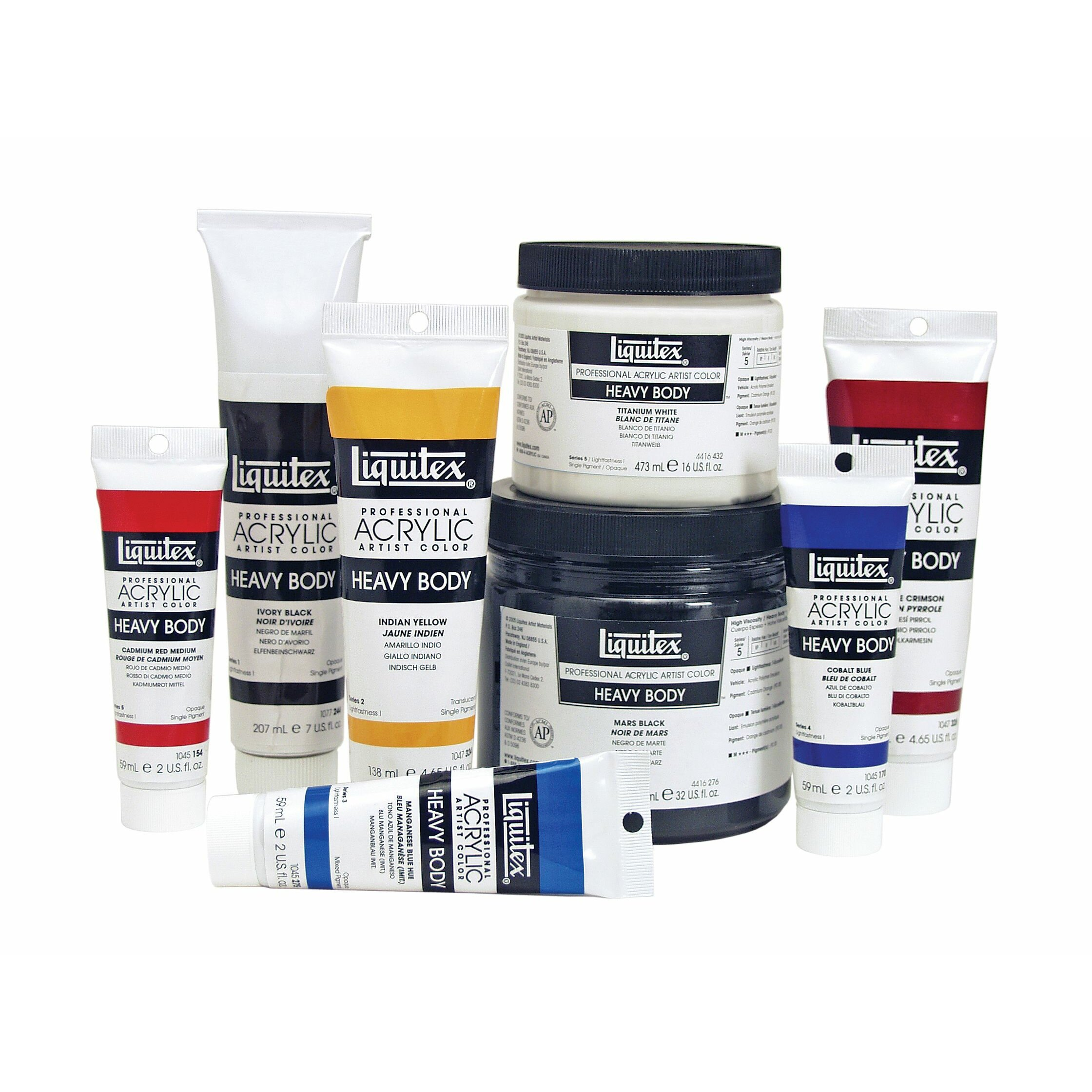 Liquitex Heavy Body Acrylic Paint Set
