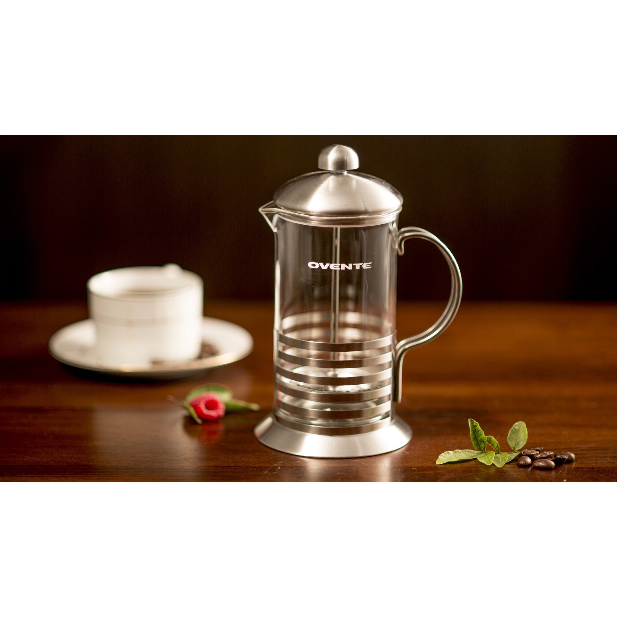 Ovente Stainless Steel French Press Coffee Maker & Reviews Wayfair