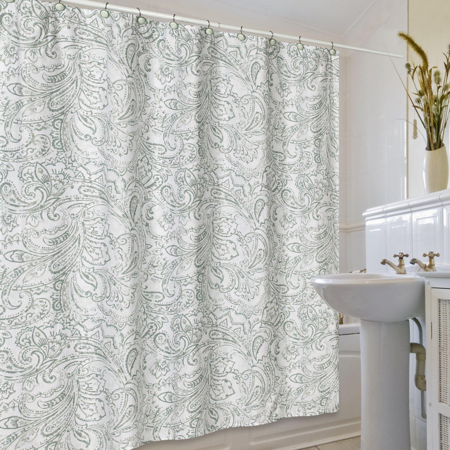 creative bath beaumont shower curtain amp reviews wayfair creative bath peva shower curtain liner