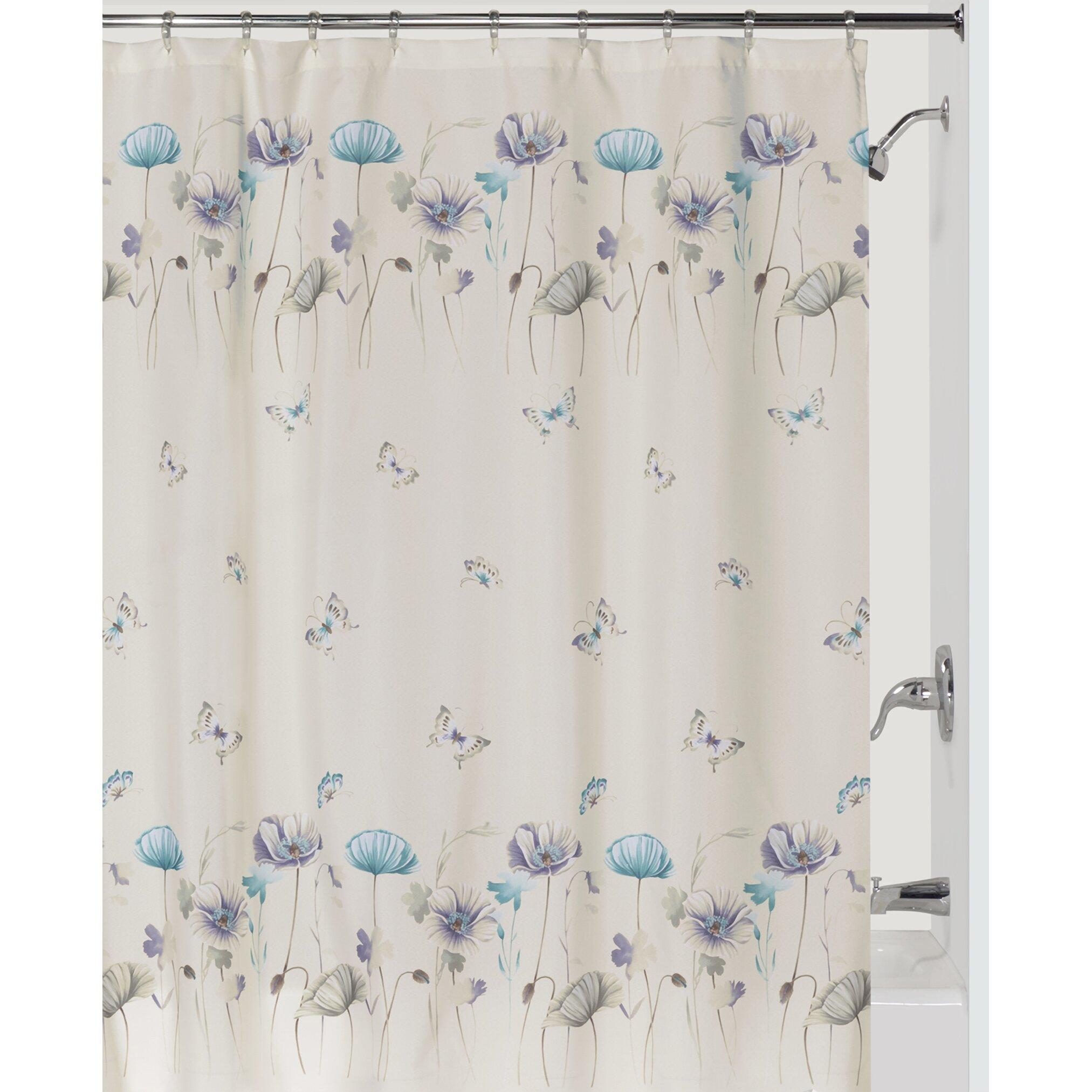 creative bath garden gate shower curtain amp reviews wayfair creative bath chainlink shower curtain amp reviews wayfair
