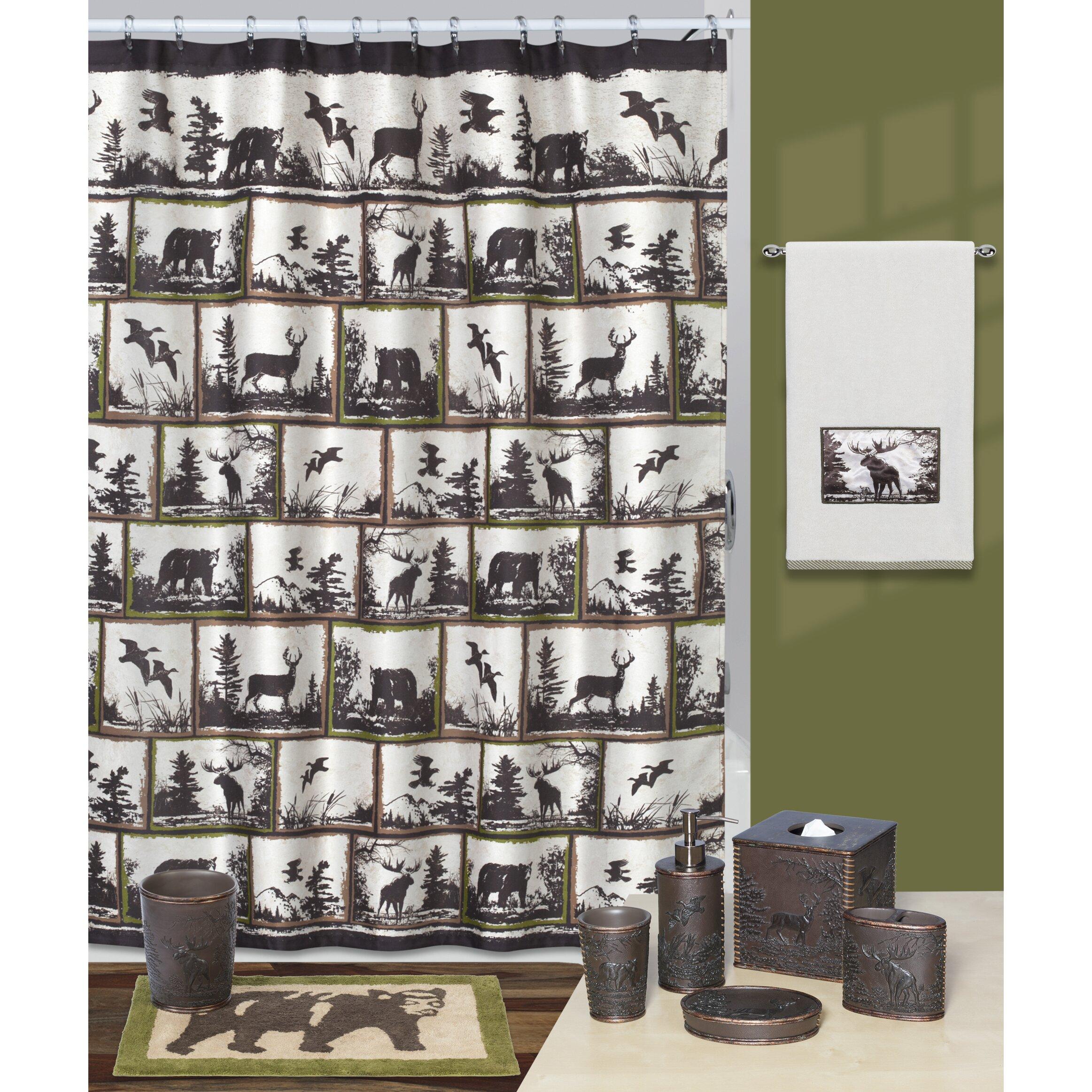 Creative Bath Rustic Montage Shower Curtain Reviews Wayfair