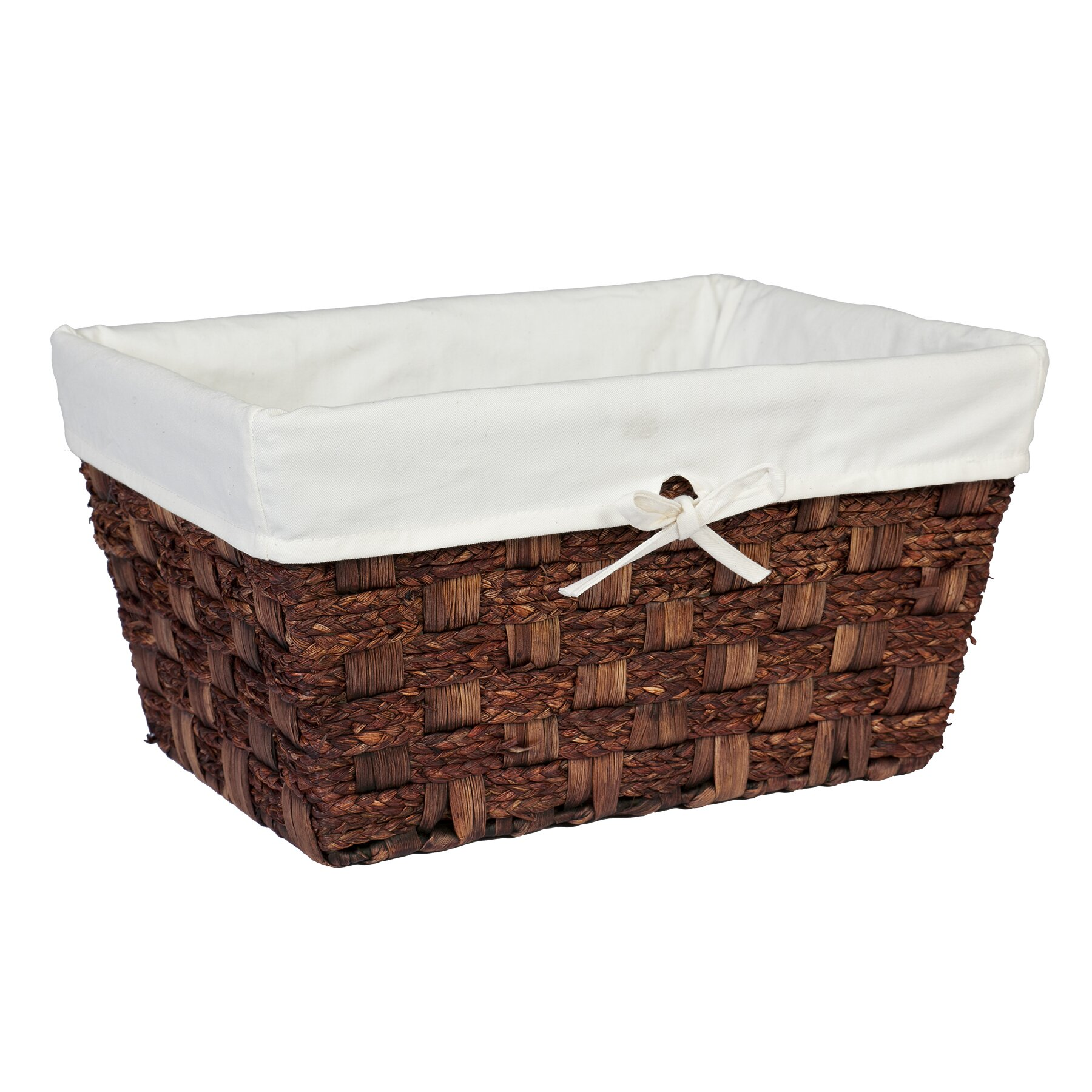 creative bath java towel utility storage basket. Black Bedroom Furniture Sets. Home Design Ideas