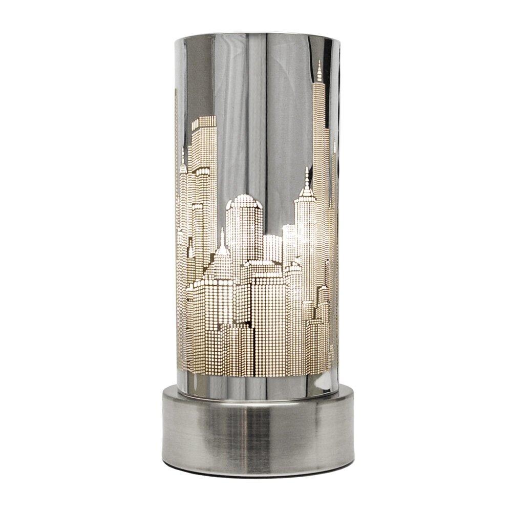 Minisun New York Skyline 24cm Table Lamp Amp Reviews