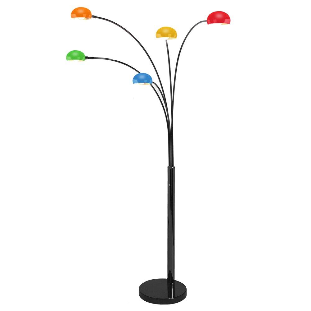 Minisun curva 230cm arched floor lamp reviews wayfair uk for Curva 2 floor lamp