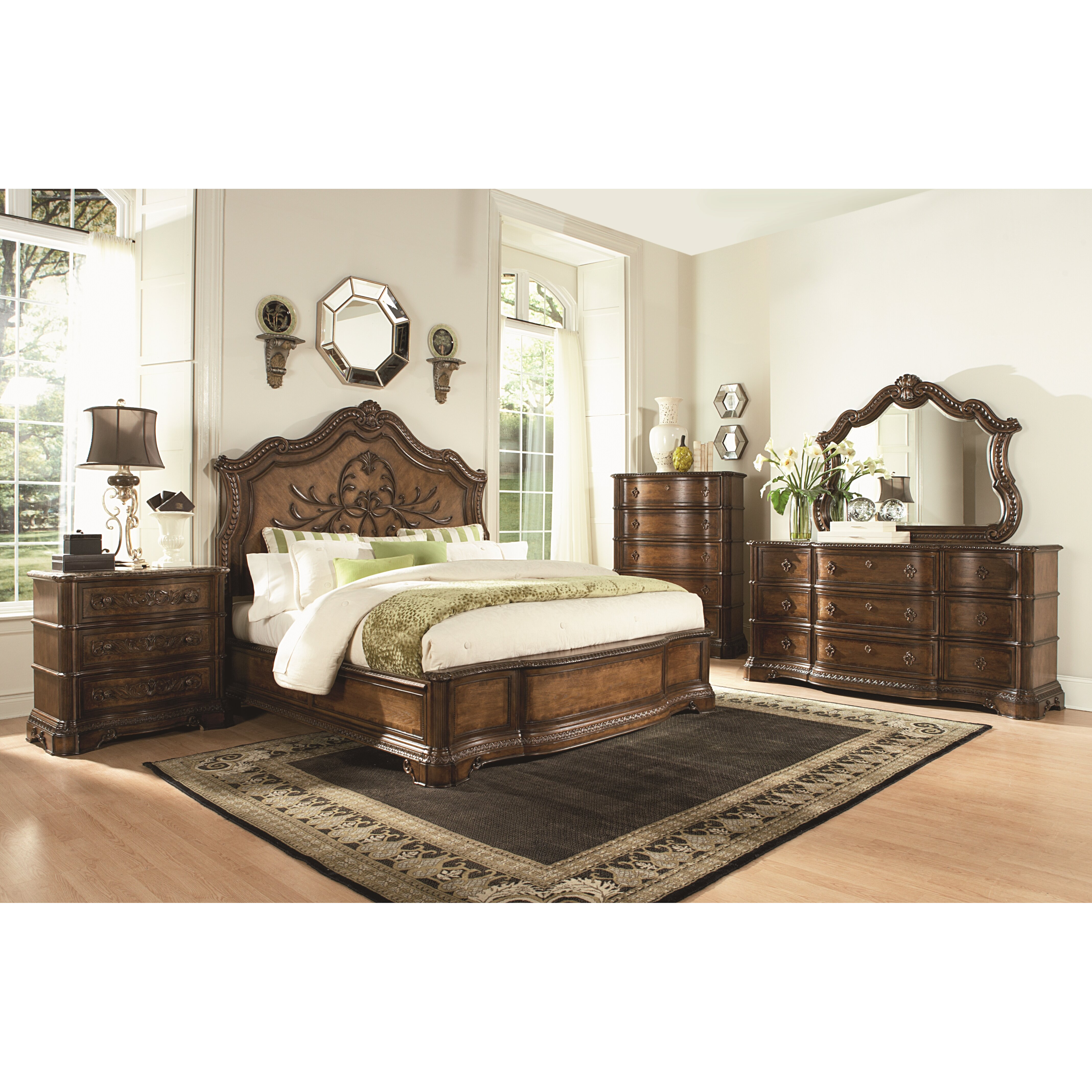Bedroom Furniture Pictures: Legacy Classic Furniture Pemberleigh Platform Customizable