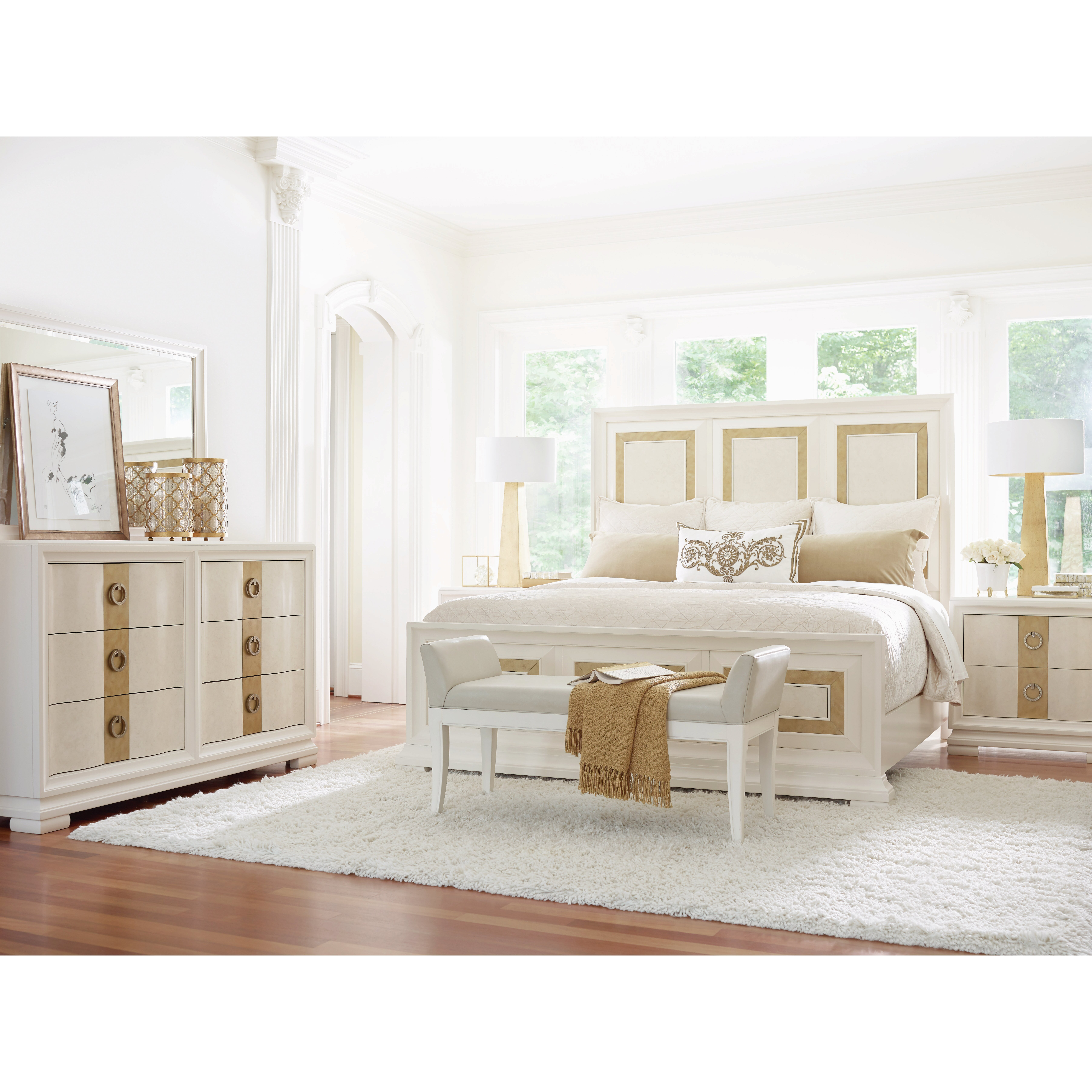 Legacy Classic Furniture Tower Suite Panel Customizable