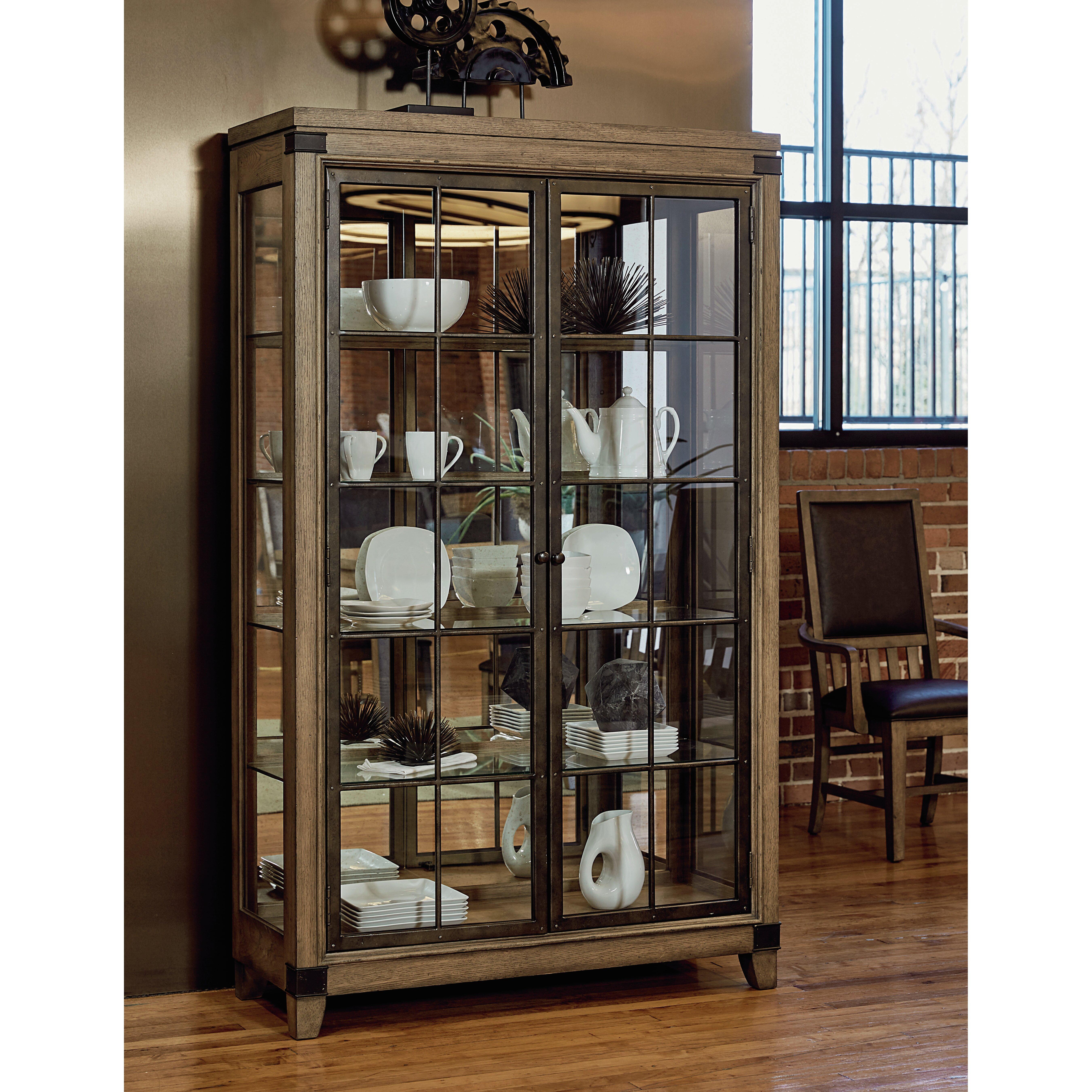 Legacy Classic Furniture MetalWorks Curio Cabinet Reviews Wayfair