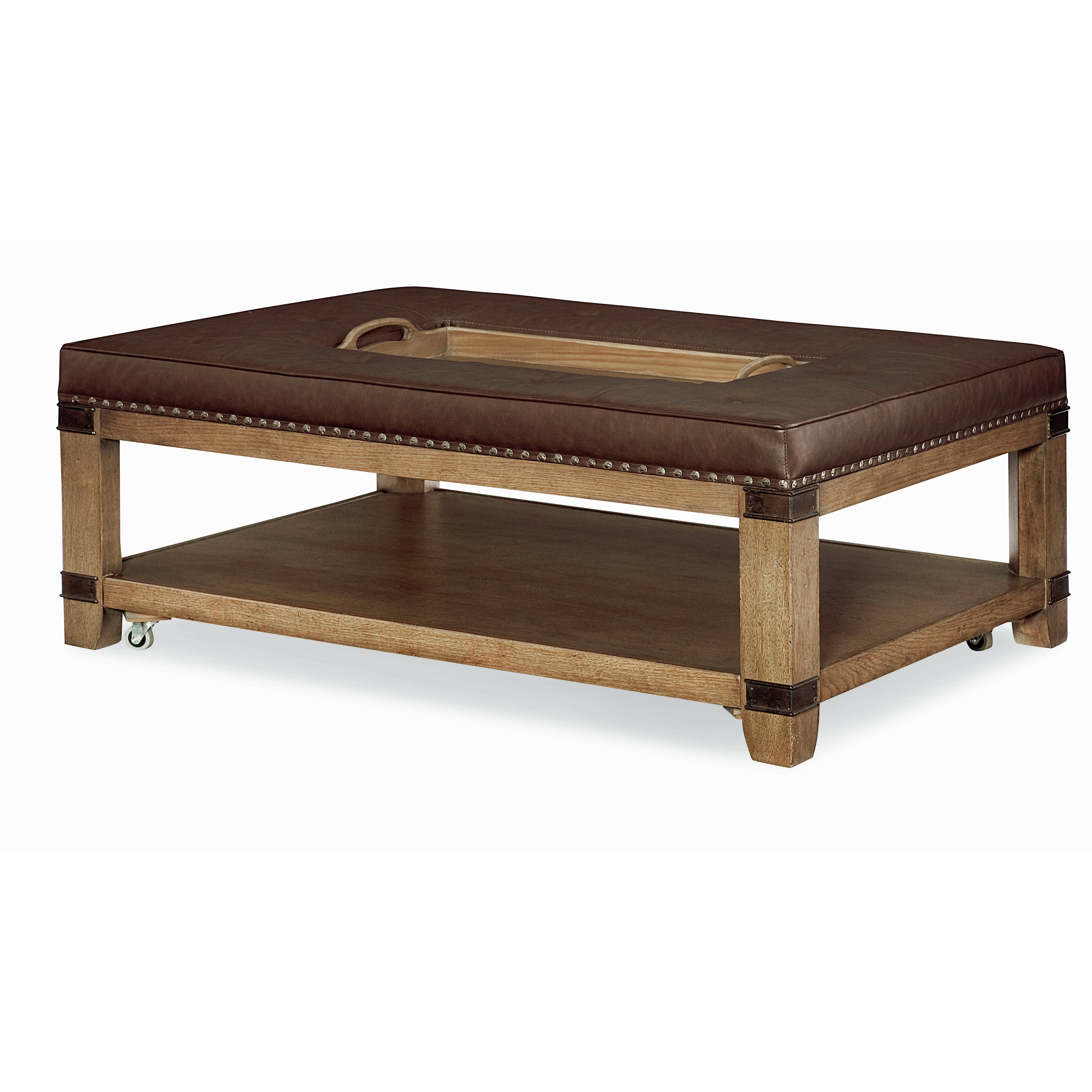 Legacy Classic Furniture Metalworks Coffee Table With Tray Top Wayfair