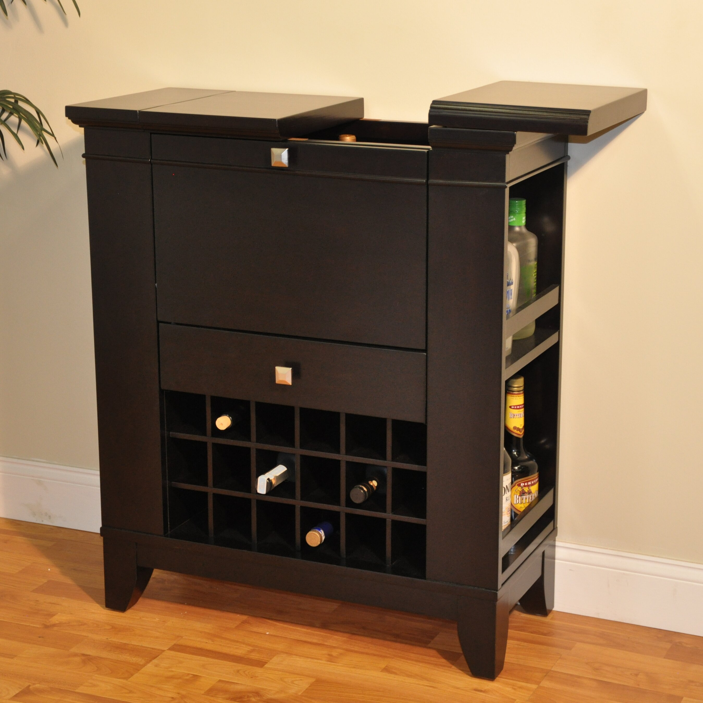 Eci Furniture Gianna Spirit Bar With Wine Storage