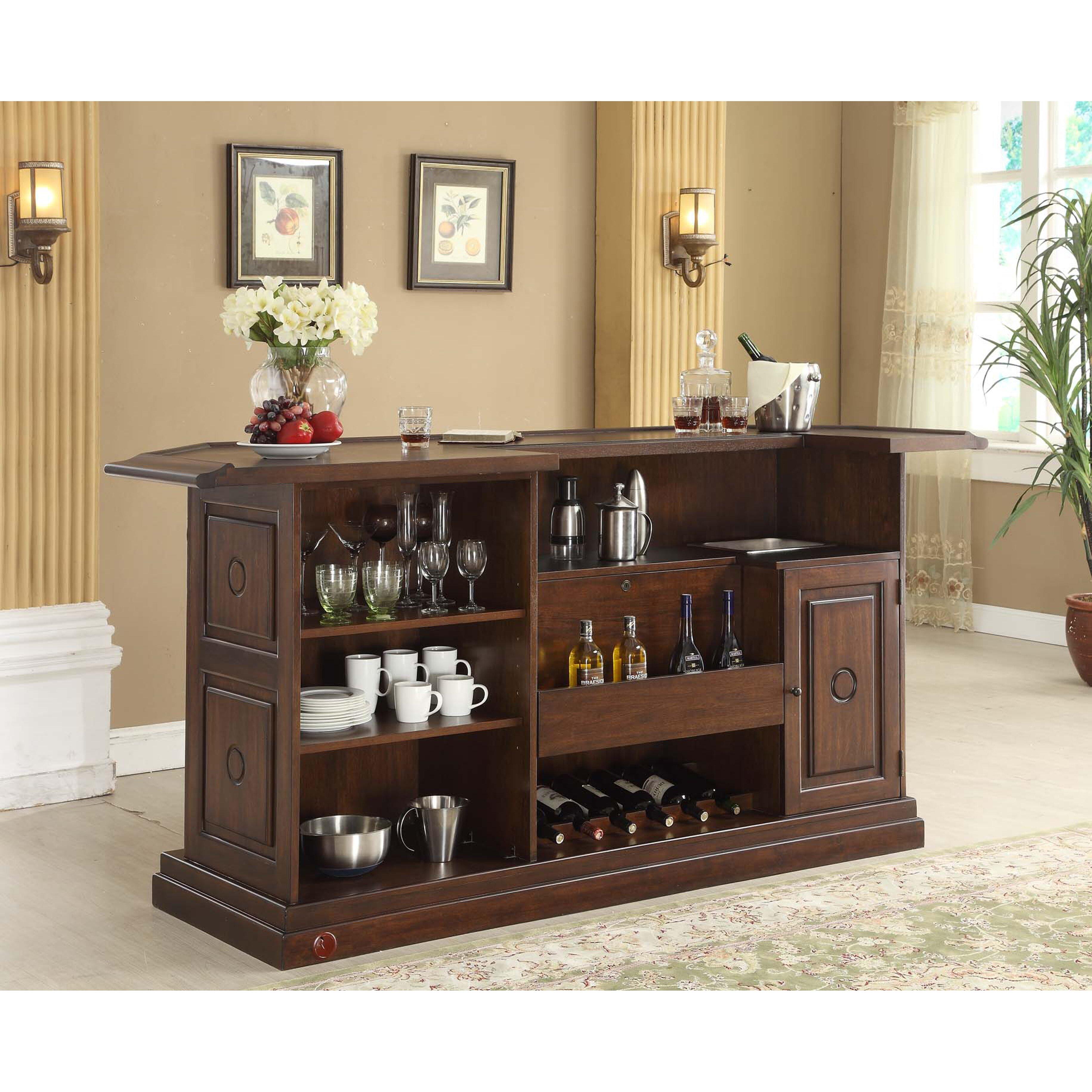Eci Furniture Ashton Series Bar With Wine Storage Reviews Wayfair