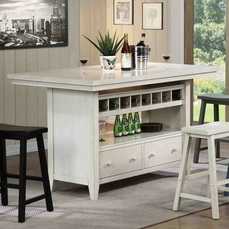 Kitchen Island Furniture: ECI Furniture Four Seasons Kitchen Island & Reviews